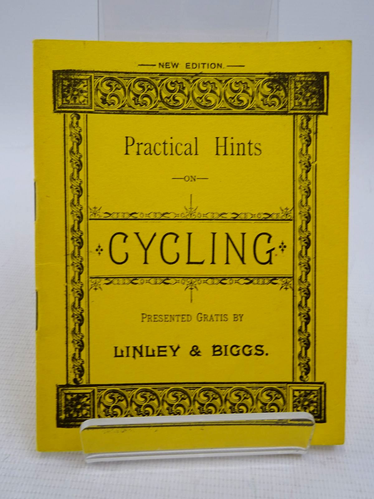 Photo of PRACTICAL HINTS ON CYCLING (STOCK CODE: 1817056)  for sale by Stella & Rose's Books