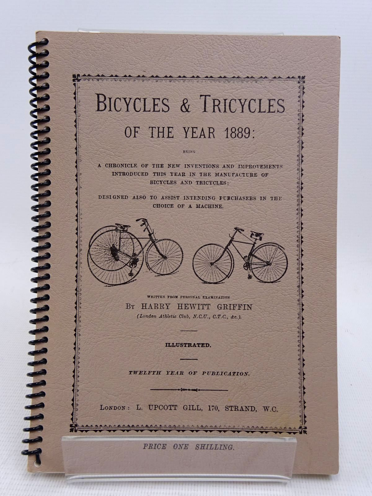Photo of BICYCLES AND TRICYCLES OF THE YEAR 1889- Stock Number: 1817061