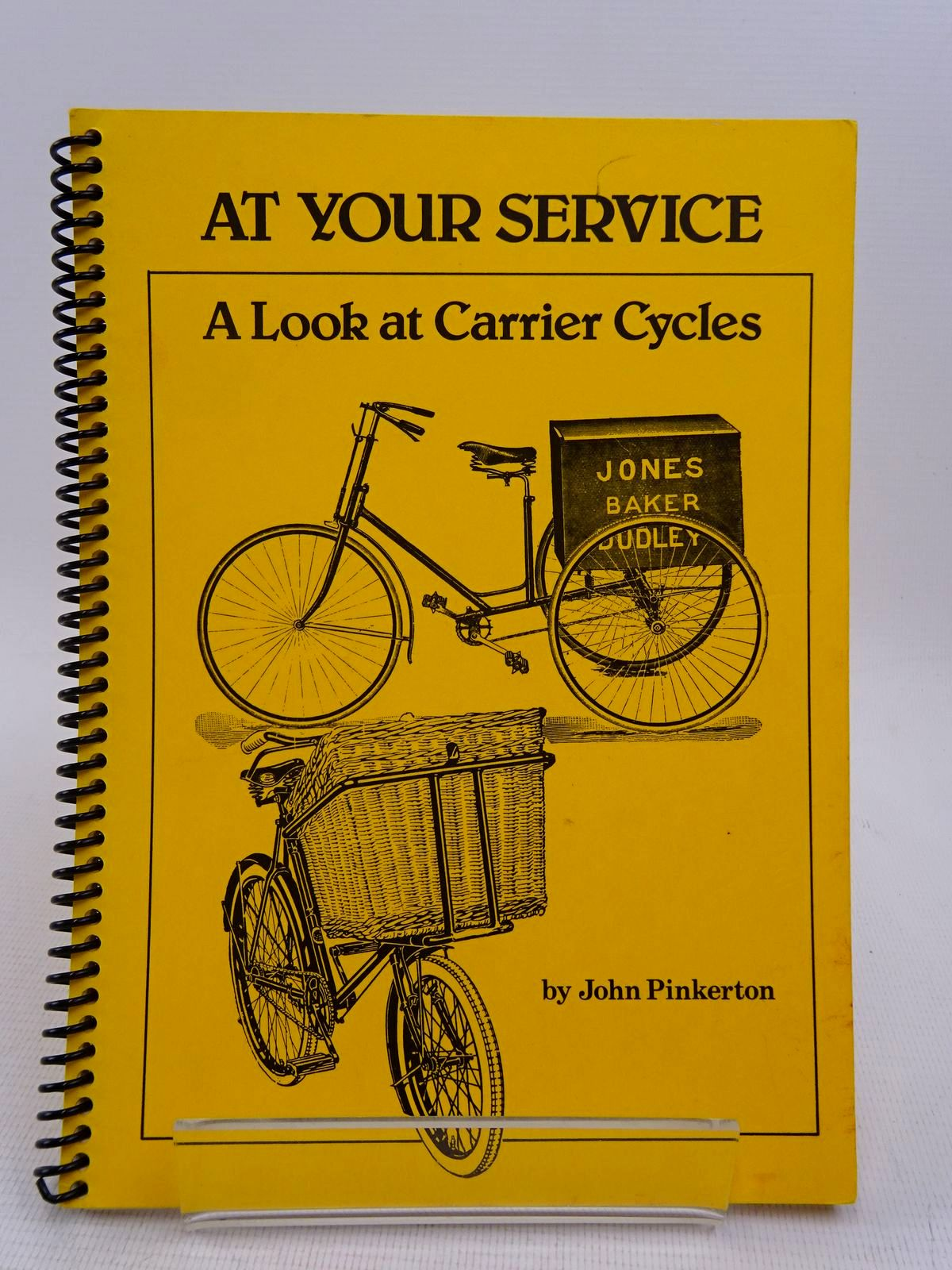 Photo of AT YOUR SERVICE: A LOOK AT CARRIER CYCLES written by Pinkerton, John (STOCK CODE: 1817062)  for sale by Stella & Rose's Books