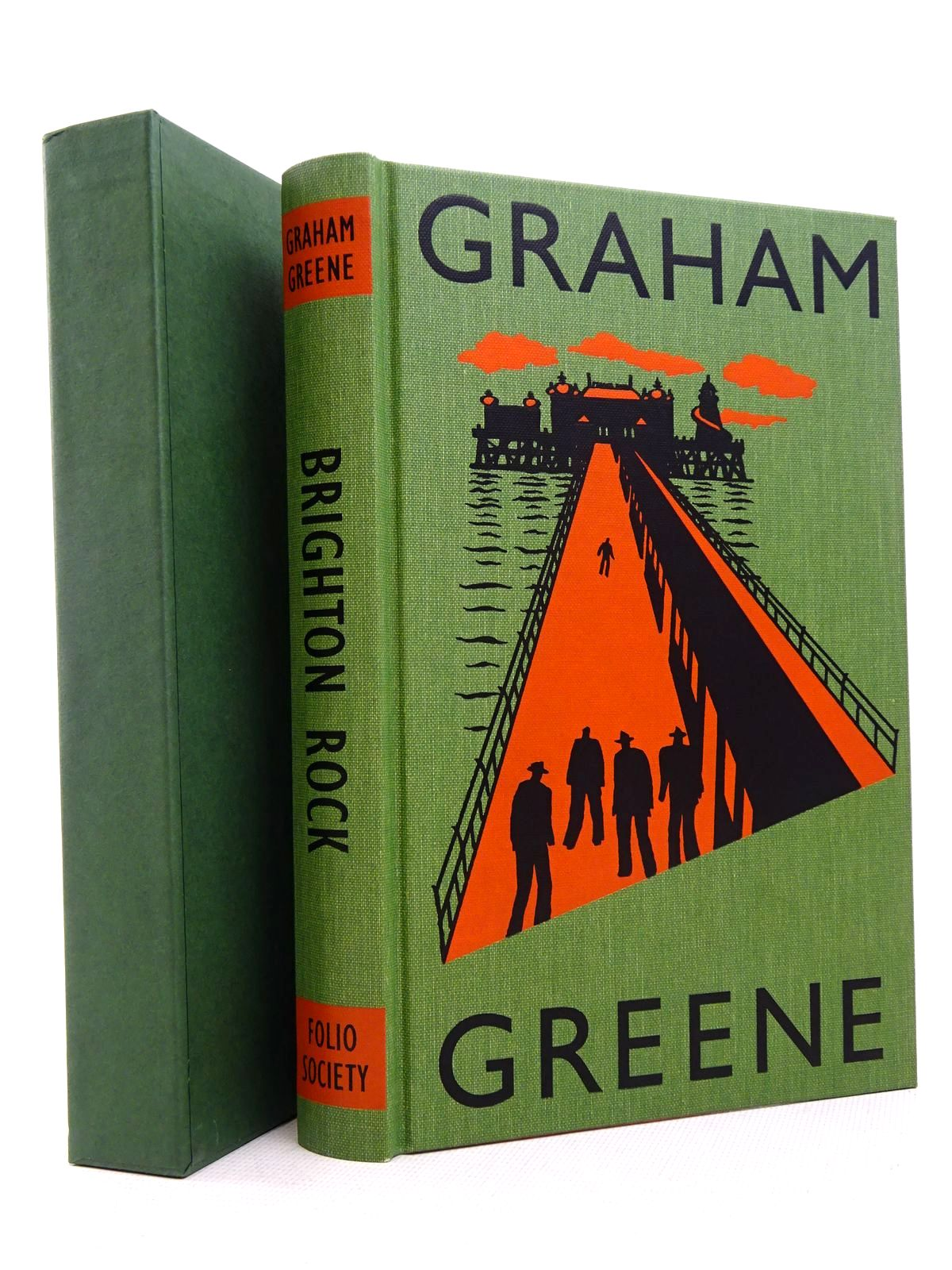 Photo of BRIGHTON ROCK written by Greene, Graham