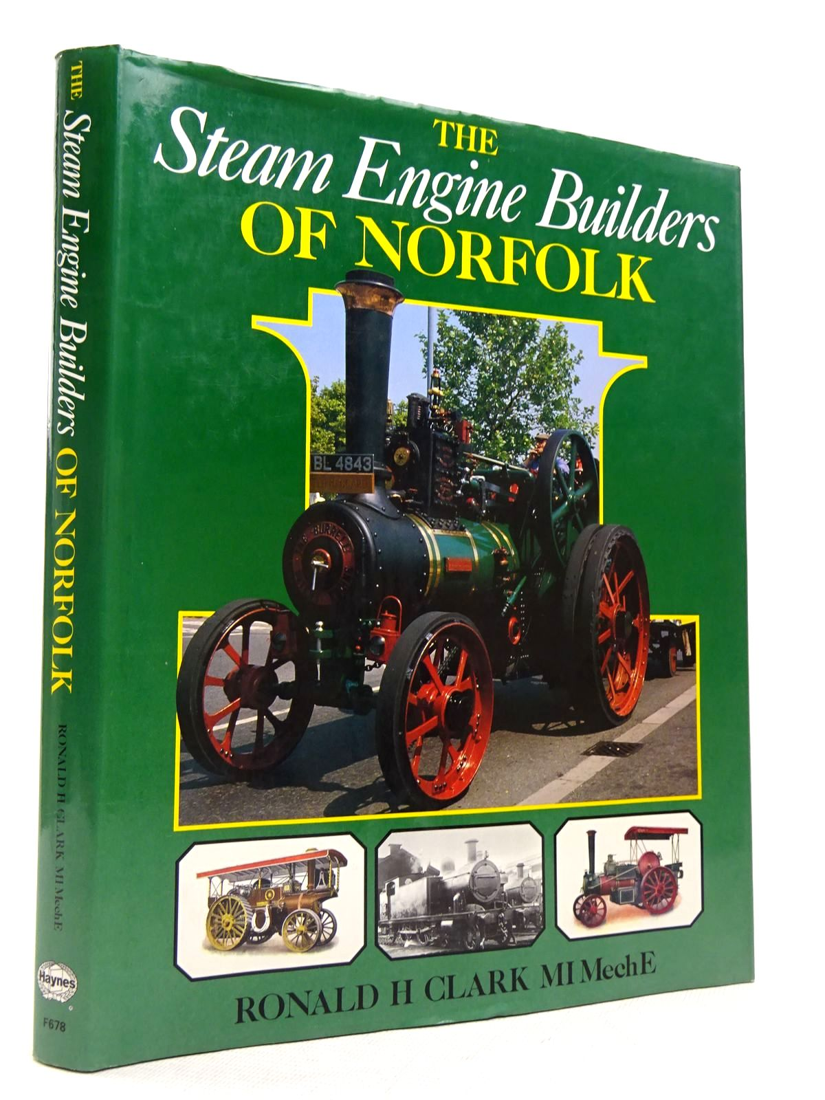 Photo of THE STEAM ENGINE BUILDERS OF NORFOLK written by Clark, Ronald H. published by Foulis, Haynes (STOCK CODE: 1817110)  for sale by Stella & Rose's Books