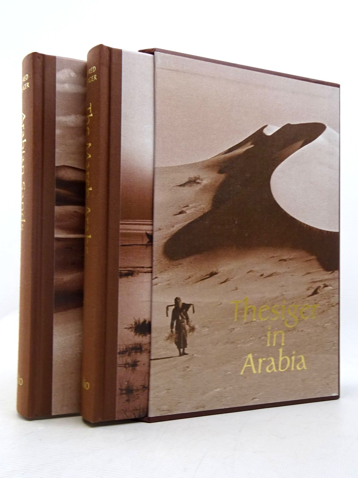 Photo of THESIGER IN ARABIA (2 VOLUMES) written by Thesiger, Wilfred published by Folio Society (STOCK CODE: 1817160)  for sale by Stella & Rose's Books
