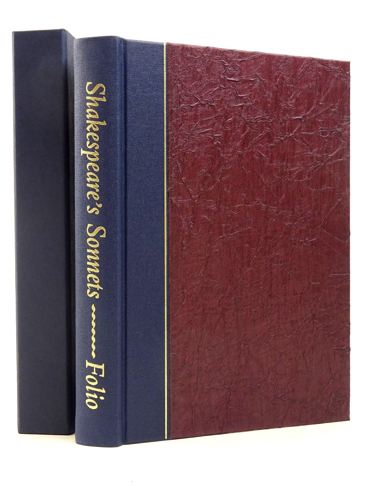 Photo of SHAKESPEARE'S SONNETS written by Shakespeare, William illustrated by Brett, Simon et al.,  published by Folio Society (STOCK CODE: 1817182)  for sale by Stella & Rose's Books