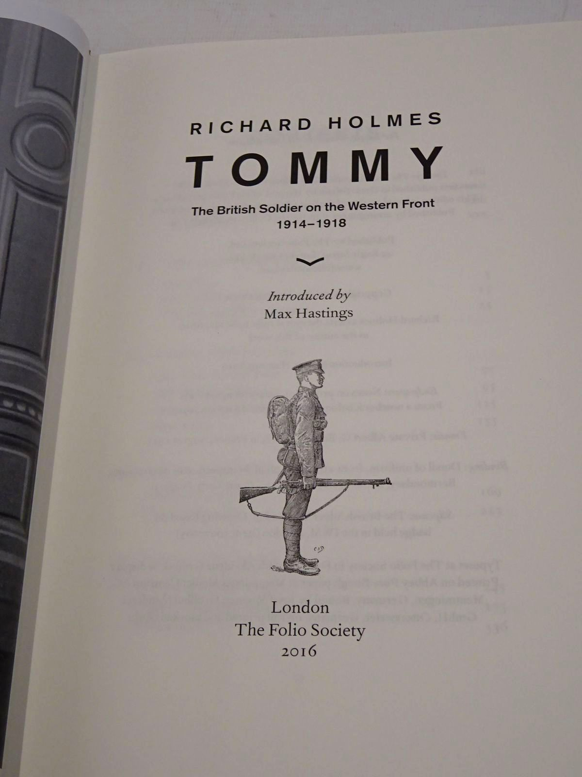 Photo of TOMMY (2 VOLUMES) written by Holmes, Richard published by Folio Society (STOCK CODE: 1817188)  for sale by Stella & Rose's Books