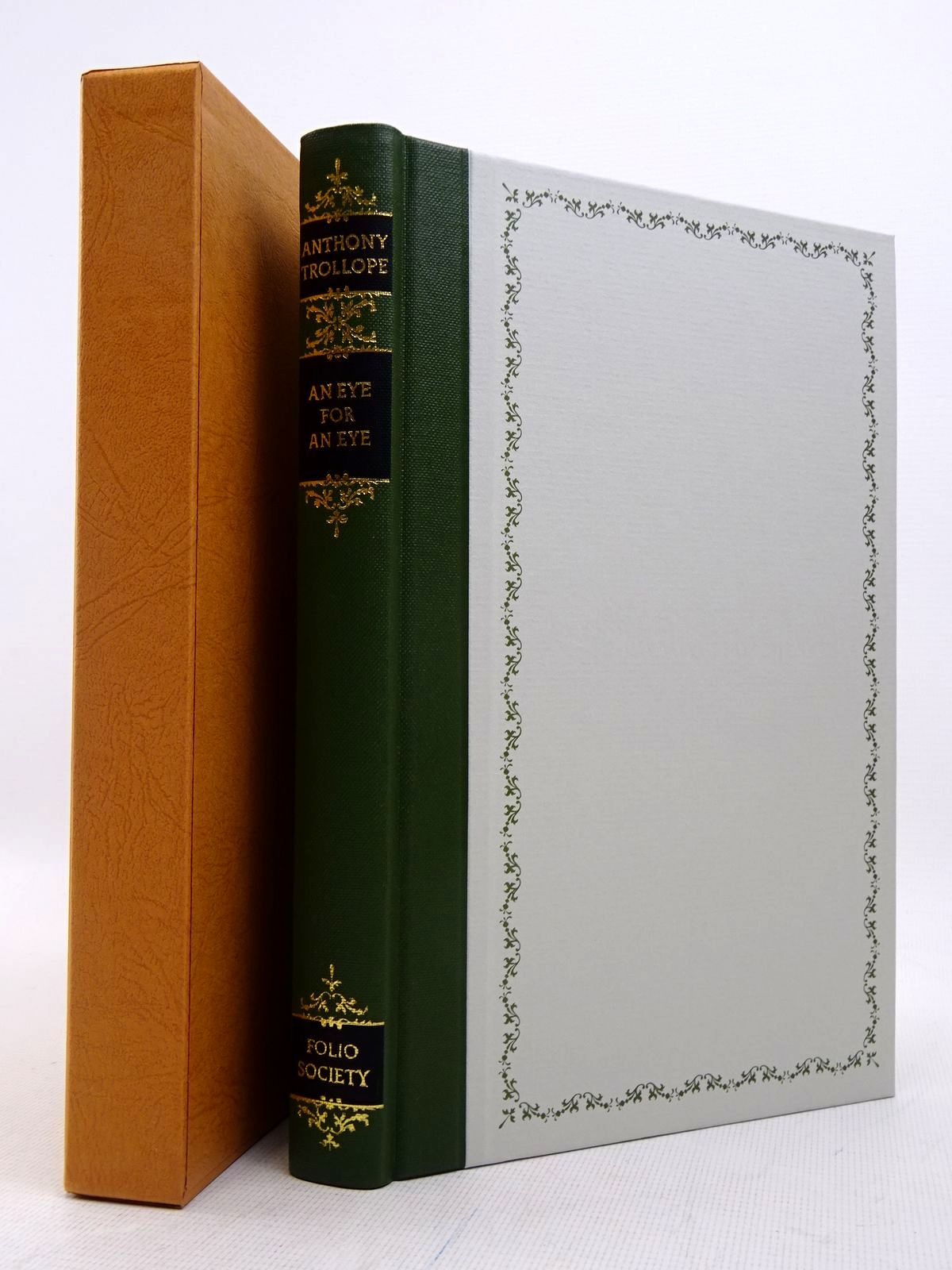 Photo of AN EYE FOR AN EYE written by Trollope, Anthony illustrated by Trimby, Elisa published by Folio Society (STOCK CODE: 1817204)  for sale by Stella & Rose's Books