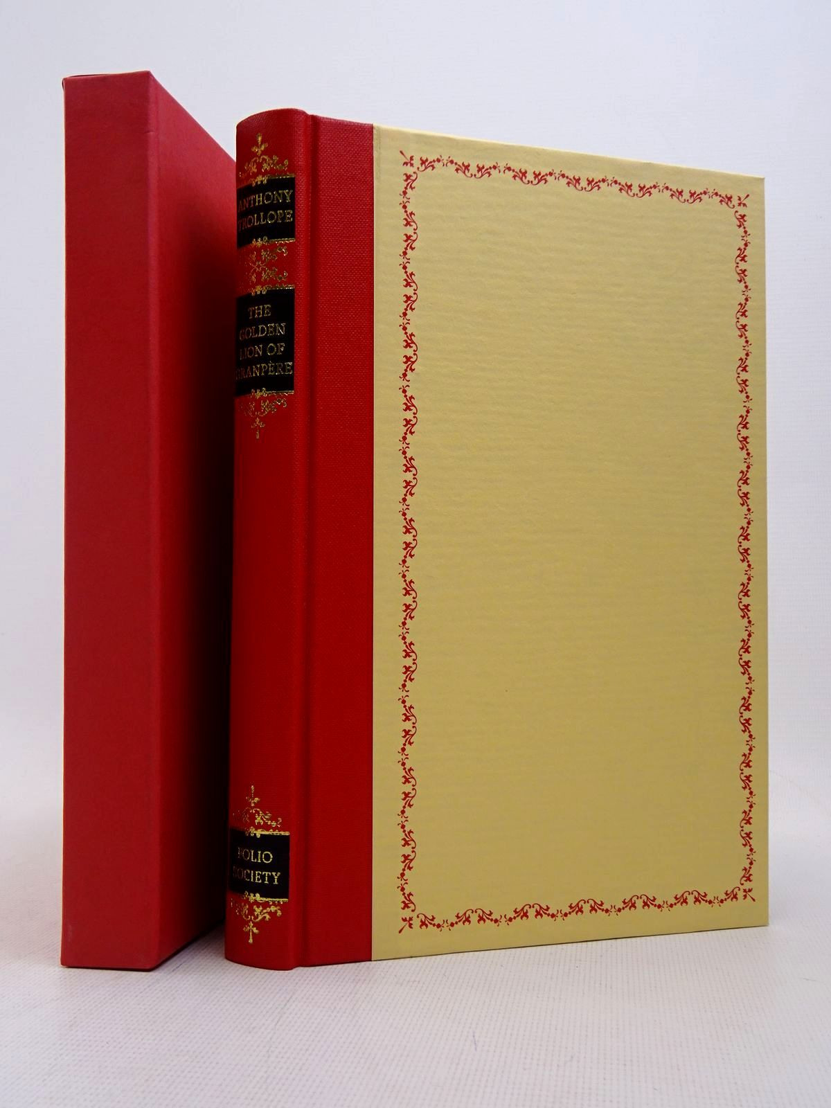 Photo of THE GOLDEN LION OF GRANPERE written by Trollope, Anthony illustrated by Biro, Val published by Folio Society (STOCK CODE: 1817206)  for sale by Stella & Rose's Books