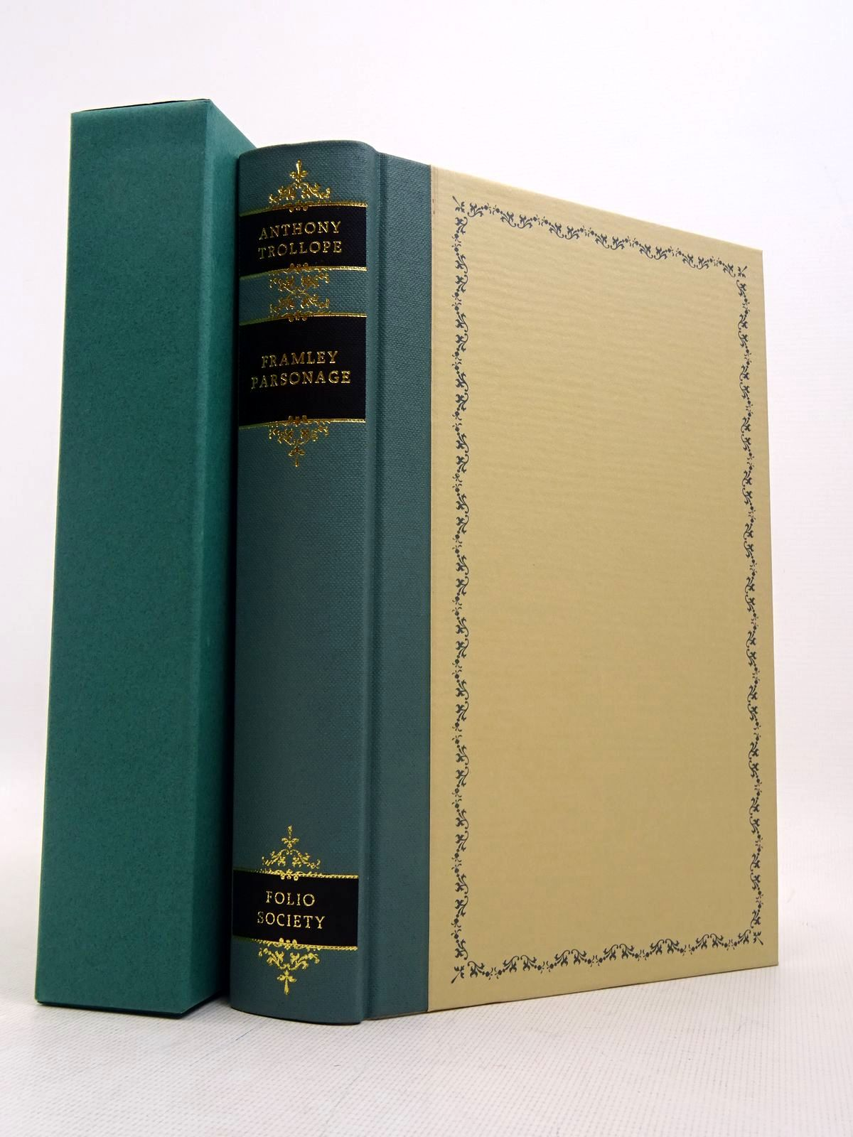 Photo of FRAMLEY PARSONAGE written by Trollope, Anthony illustrated by Pendle, Alexy published by Folio Society (STOCK CODE: 1817207)  for sale by Stella & Rose's Books