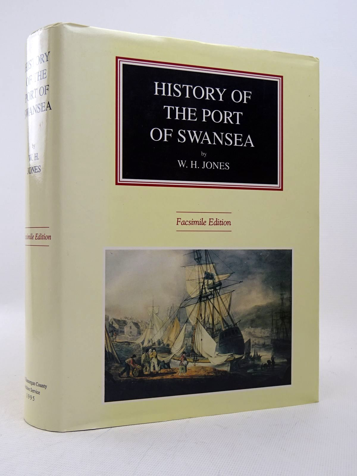 Photo of HISTORY OF THE PORT OF SWANSEA written by Jones, William Henry published by West Glamorgan County Archive Service (STOCK CODE: 1817232)  for sale by Stella & Rose's Books