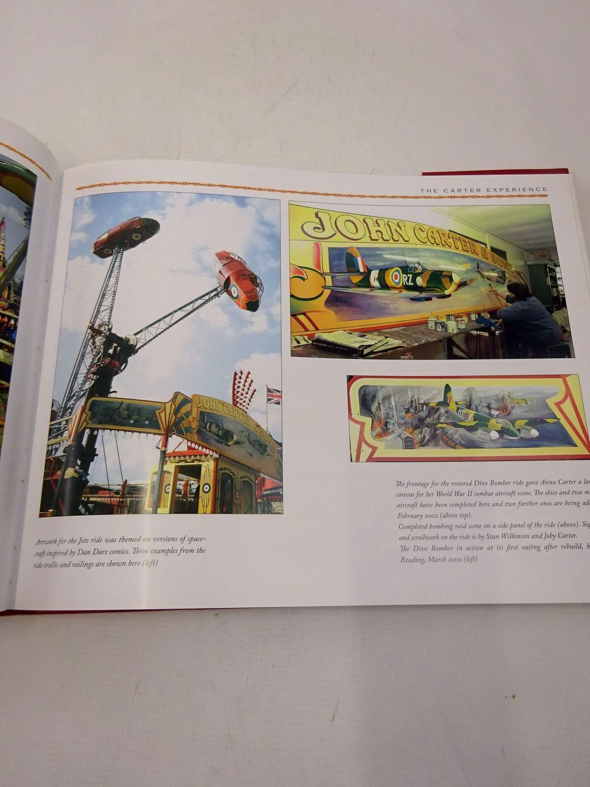 Photo of VINTAGE FUNFAIRS AMUSEMENT RIDES, CAROUSELS AND FAIRGROUND ART written by Steptoe, Brian published by Jumper Books (STOCK CODE: 1817235)  for sale by Stella & Rose's Books