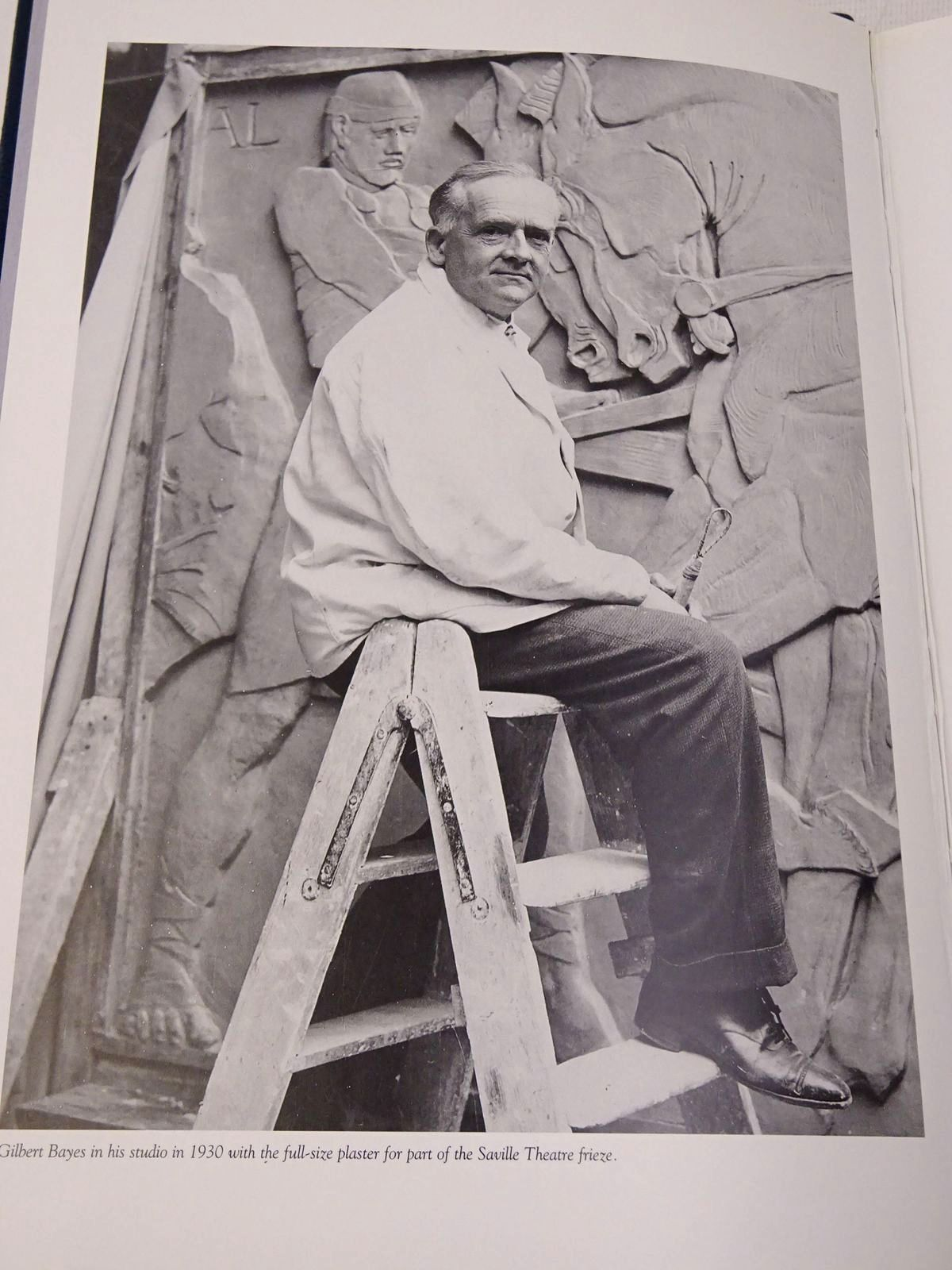 Photo of GILBERT BAYES SCULPTOR 1872-1953 written by Irvine, Louise