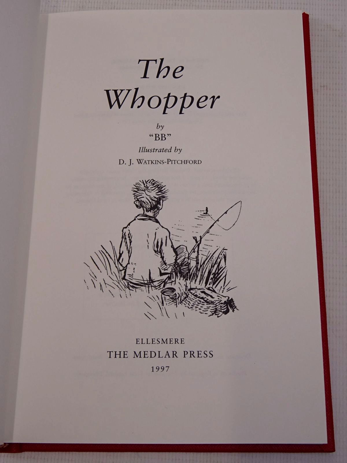 Photo of THE WHOPPER written by BB,  illustrated by BB,  published by The Medlar Press (STOCK CODE: 1817242)  for sale by Stella & Rose's Books