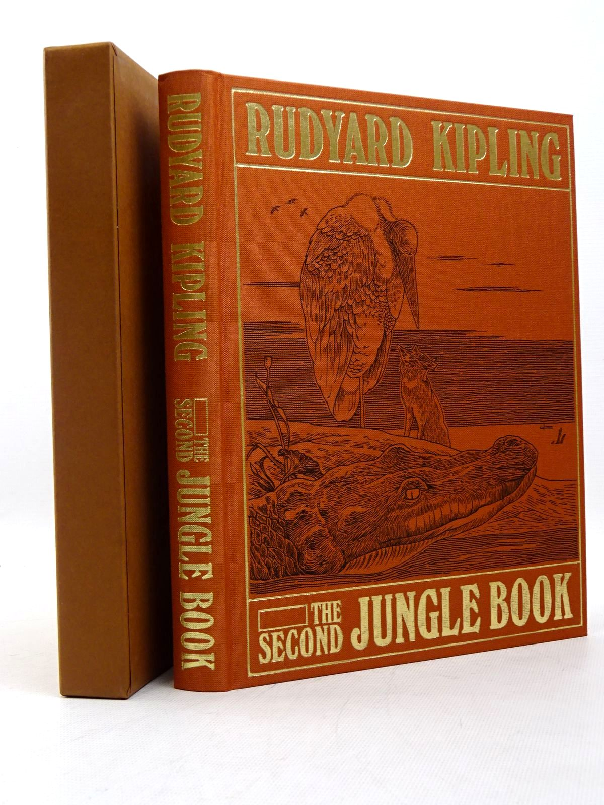 Photo of THE SECOND JUNGLE BOOK written by Kipling, Rudyard illustrated by Detmold, Edward J. Eccles, David published by Folio Society (STOCK CODE: 1817279)  for sale by Stella & Rose's Books