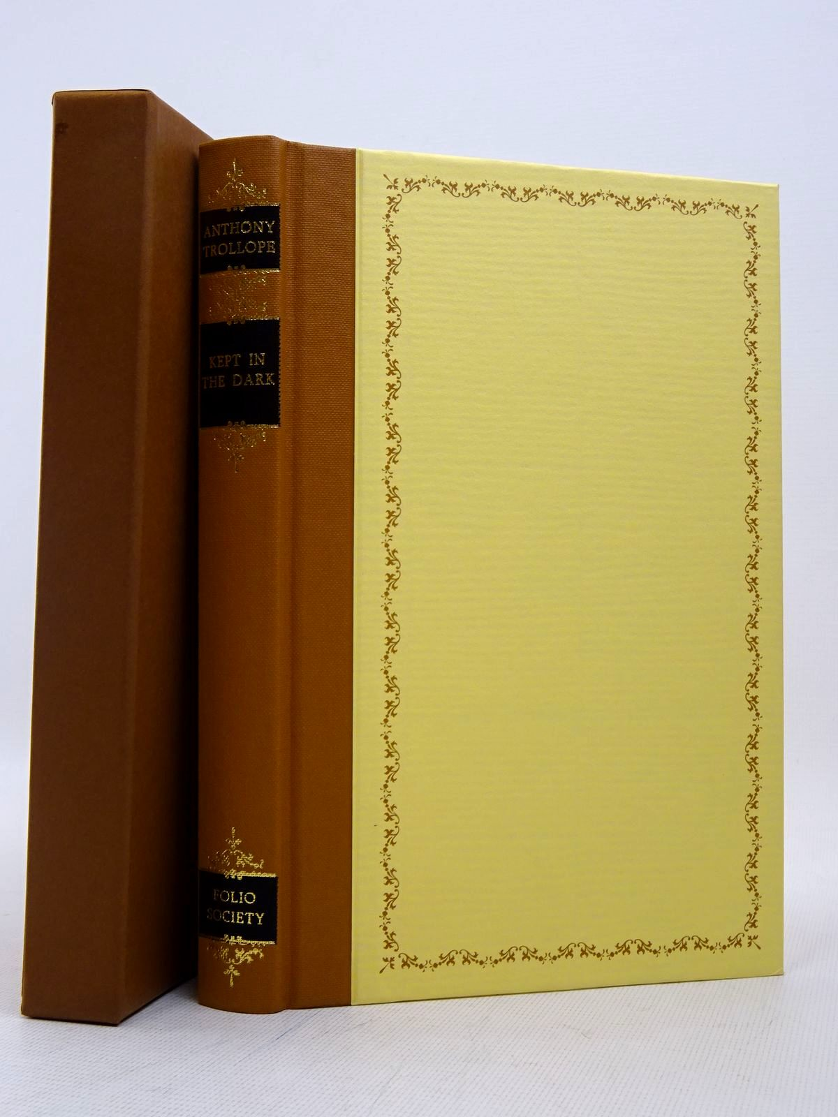 Photo of KEPT IN THE DARK written by Trollope, Anthony Parker, Derek illustrated by Aldous, Kate published by Folio Society (STOCK CODE: 1817290)  for sale by Stella & Rose's Books
