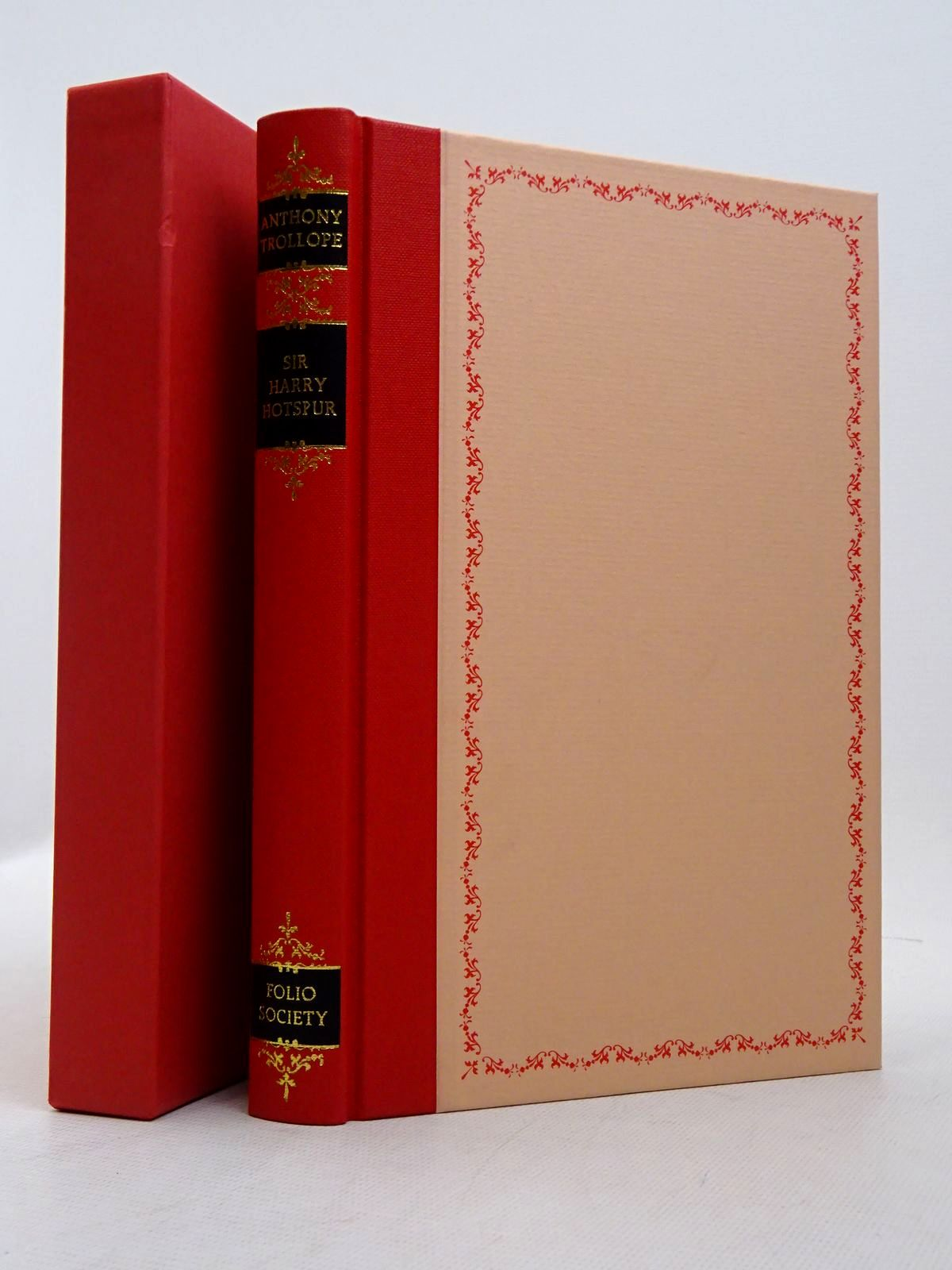 Photo of SIR HARRY HOTSPUR OF HUMBLETHWAITE written by Trollope, Anthony Bradbury, Sue illustrated by Brookes, Peter published by Folio Society (STOCK CODE: 1817293)  for sale by Stella & Rose's Books