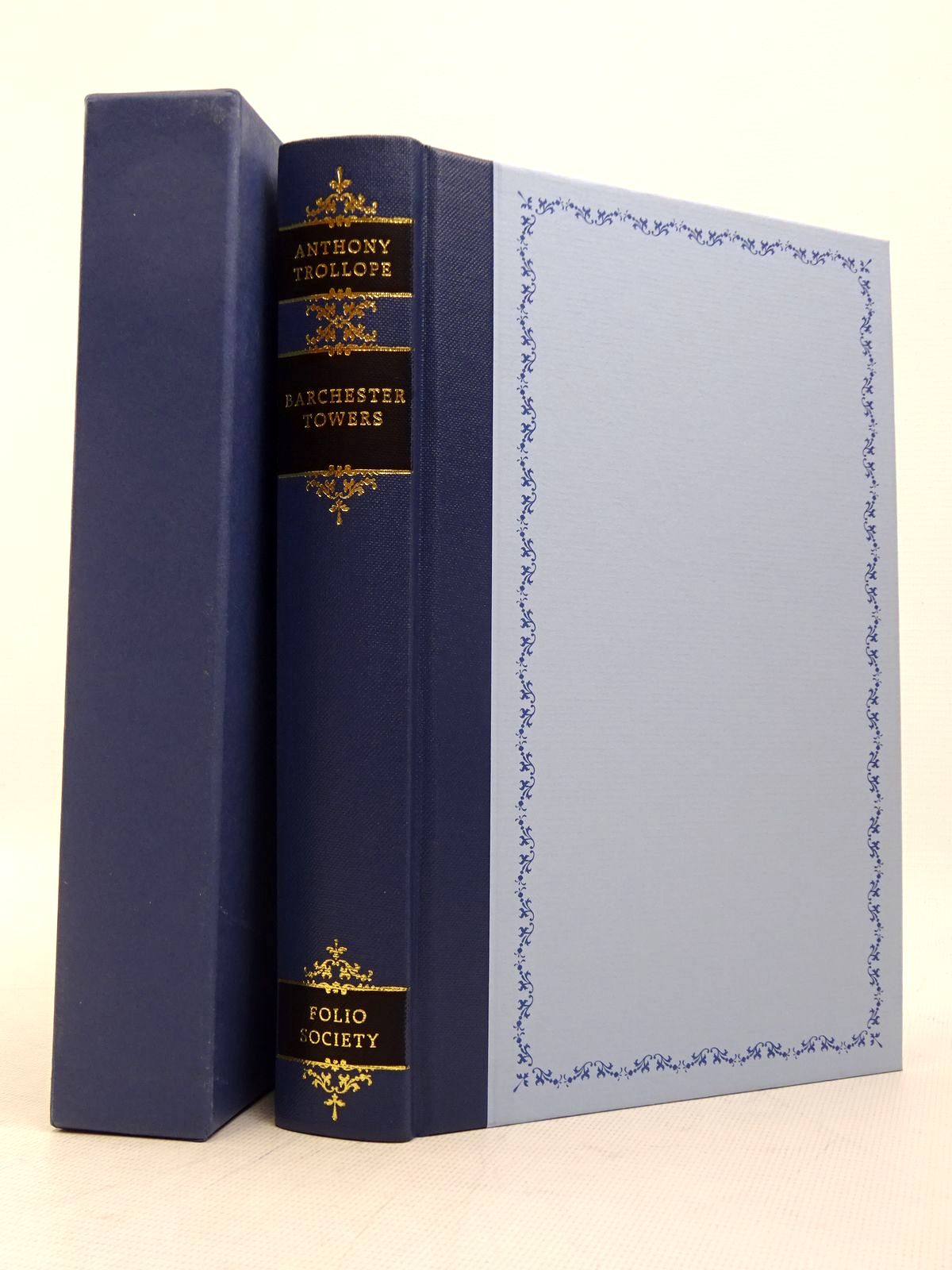 Photo of BARCHESTER TOWERS written by Trollope, Anthony Rendell, Ruth illustrated by Pendle, Alexy published by Folio Society (STOCK CODE: 1817296)  for sale by Stella & Rose's Books