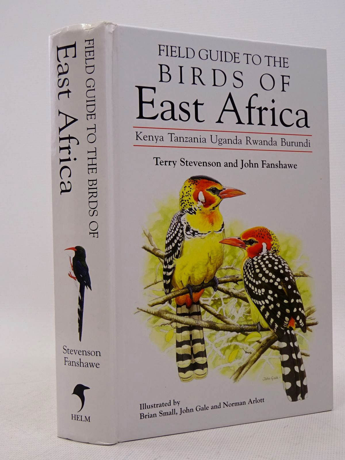 Photo of FIELD GUIDE TO THE BIRDS OF EAST AFRICA written by Stevenson, Terry Fanshawe, John illustrated by Small, Brian Gale, John Arlott, Norman published by Christopher Helm (STOCK CODE: 1817310)  for sale by Stella & Rose's Books