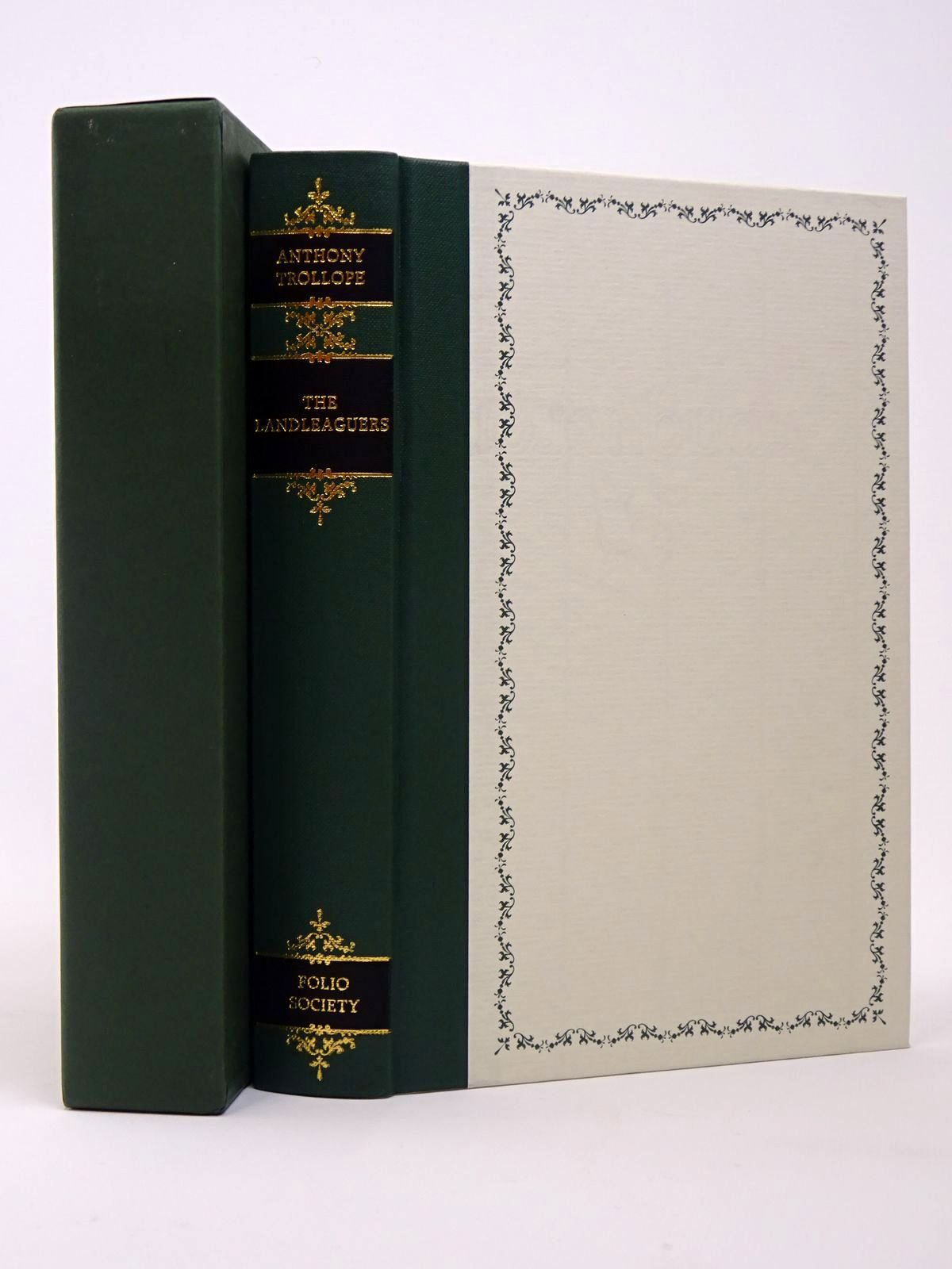Photo of THE LANDLEAGUERS written by Trollope, Anthony Delaney, Frank illustrated by Biro, Val published by Folio Society (STOCK CODE: 1817339)  for sale by Stella & Rose's Books