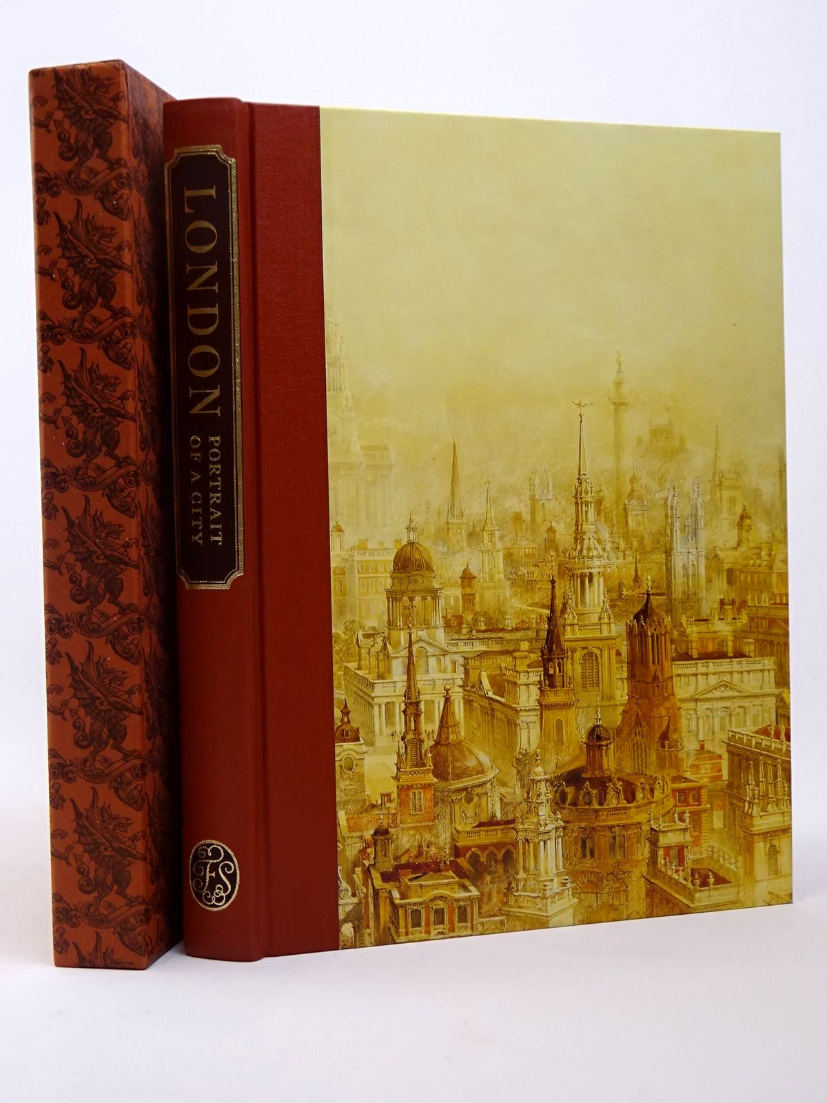 Photo of LONDON PORTRAIT OF A CITY written by Hudson, Roger published by Folio Society (STOCK CODE: 1817353)  for sale by Stella & Rose's Books
