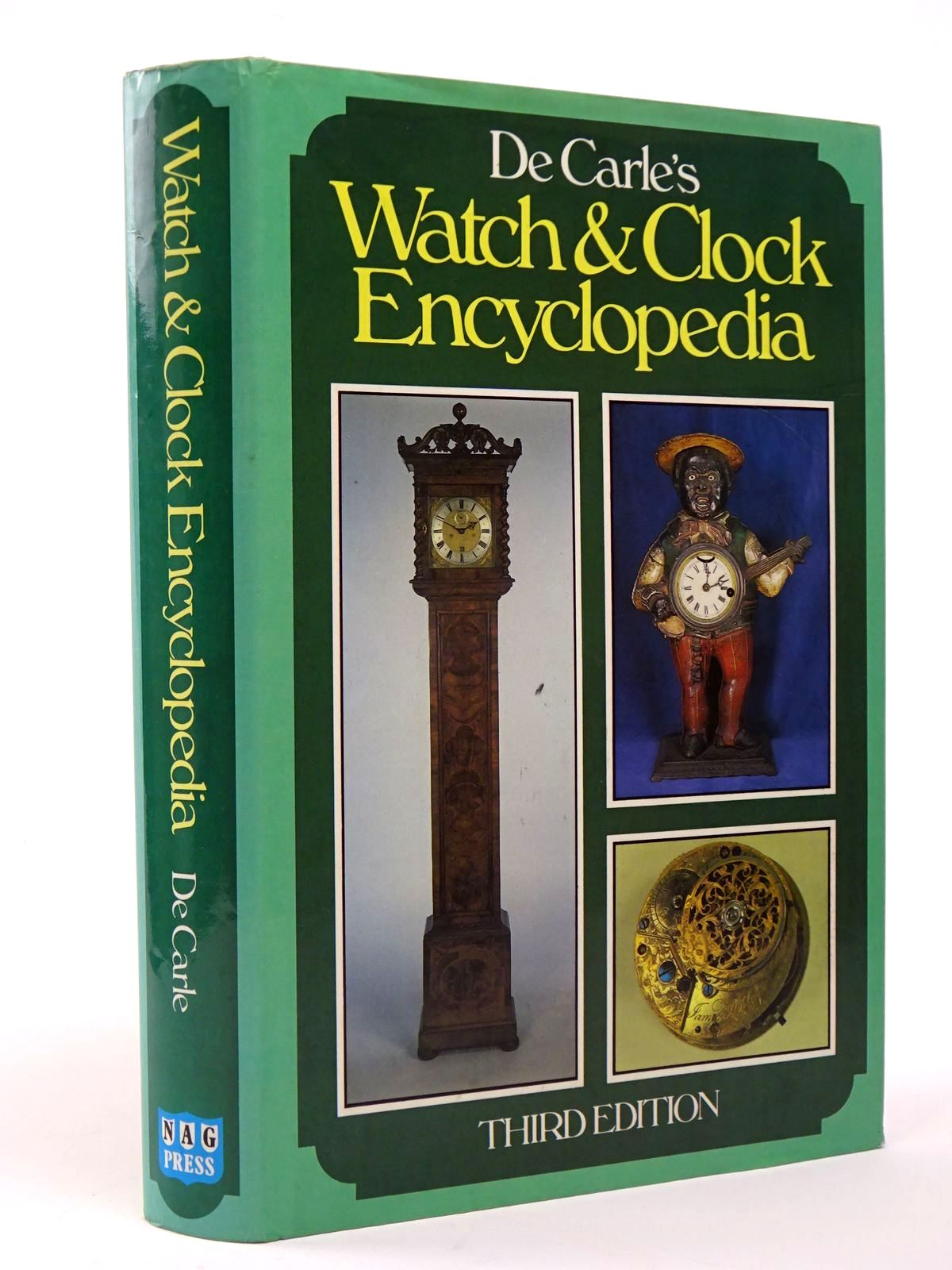 Photo of WATCH & CLOCK ENCYCLOPEDIA written by De Carle, Donald published by N.A.G. Press Ltd. (STOCK CODE: 1817367)  for sale by Stella & Rose's Books