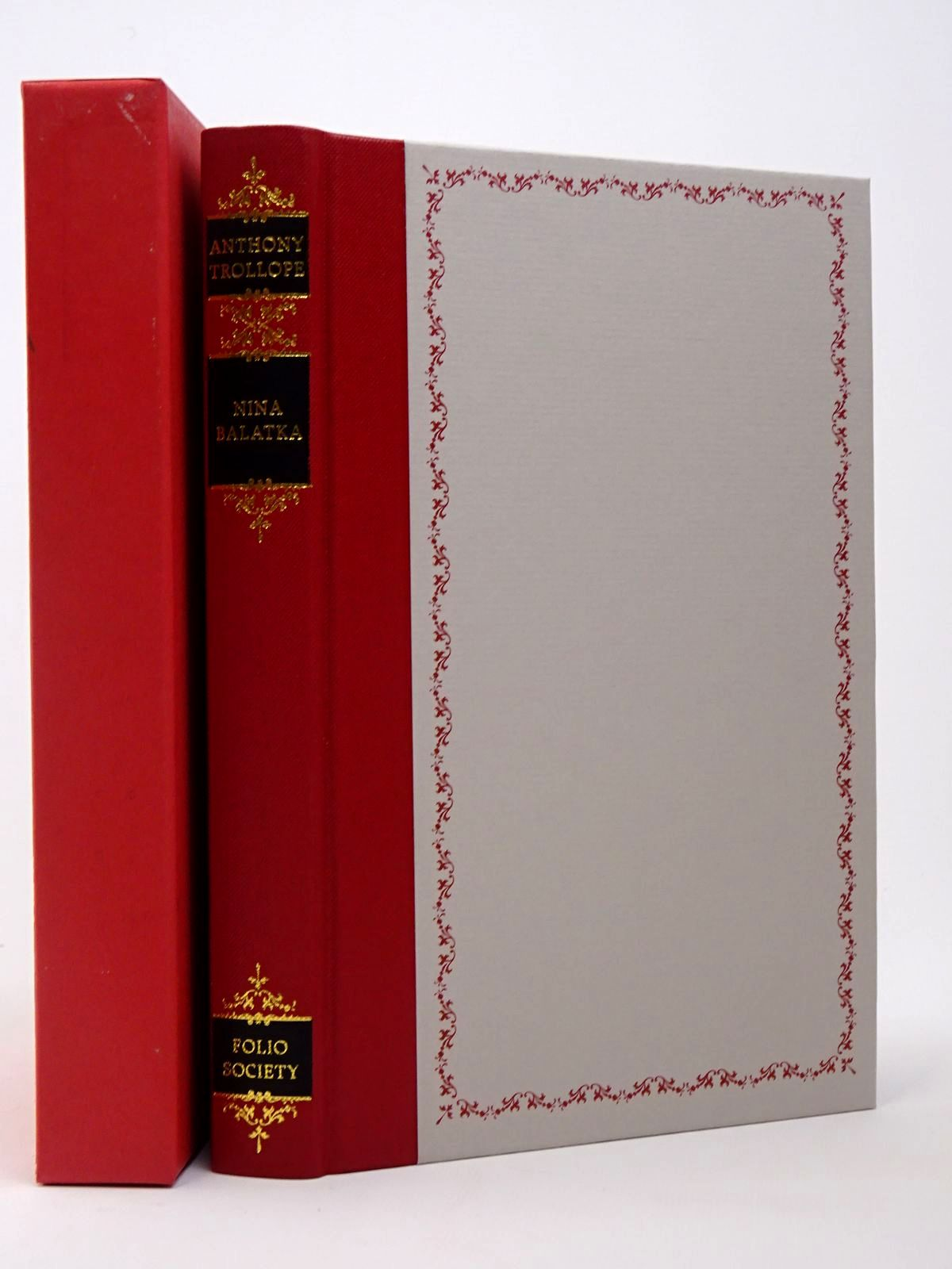 Photo of NINA BALATKA written by Trollope, Anthony Thirlwell, Angela illustrated by Waters, Rod published by Folio Society (STOCK CODE: 1817410)  for sale by Stella & Rose's Books