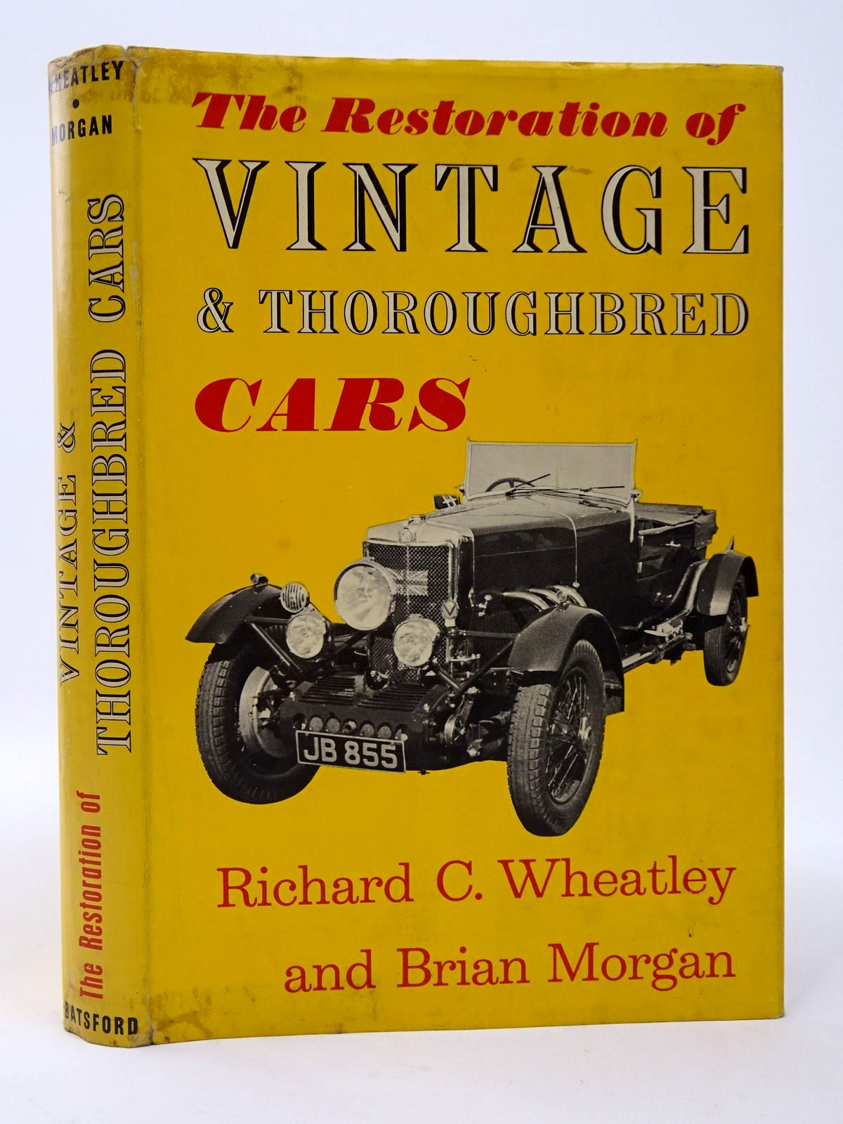 Photo of THE RESTORATION OF VINTAGE AND THOROUGHBRED CARS- Stock Number: 1817425