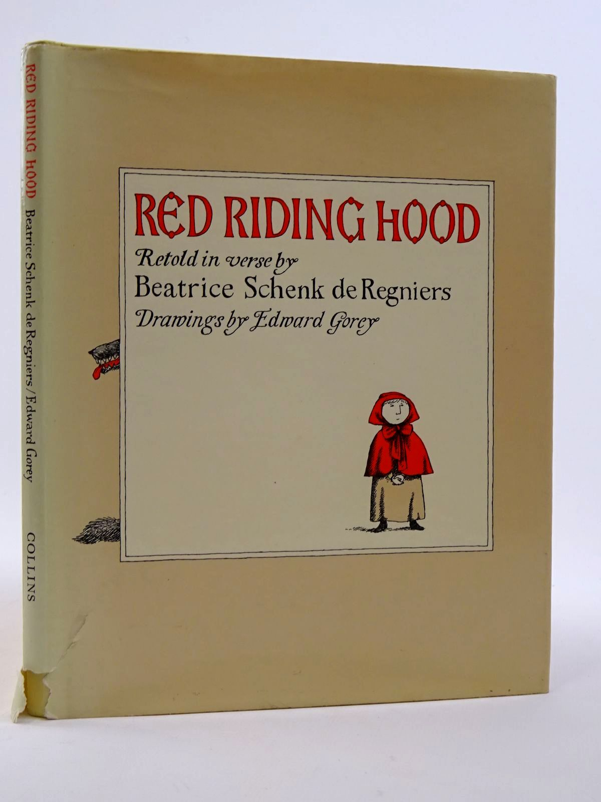 Photo of RED RIDING HOOD written by De Regniers, Beatrice Schenk<br />Grimm, Brothers illustrated by Gorey, Edward published by Collins (STOCK CODE: 1817453)  for sale by Stella & Rose's Books