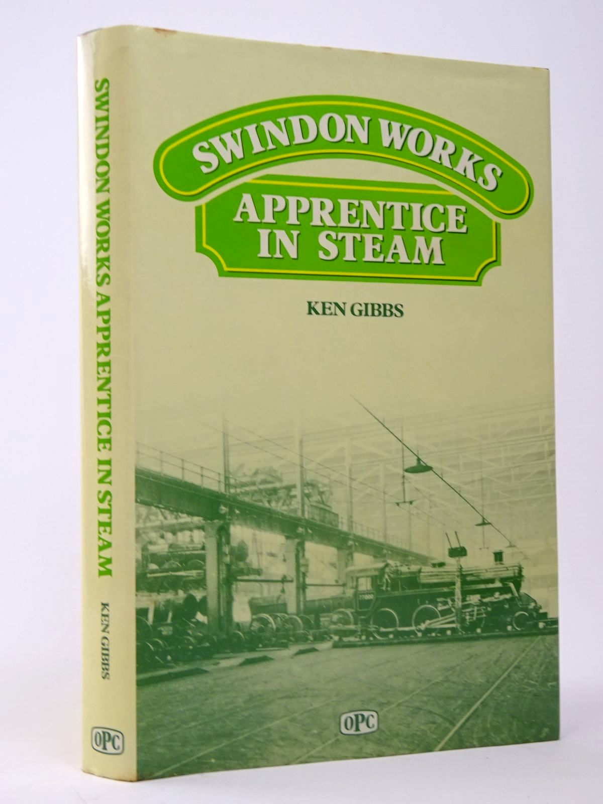 Photo of SWINDON WORKS APPRENTICE IN STEAM- Stock Number: 1817504