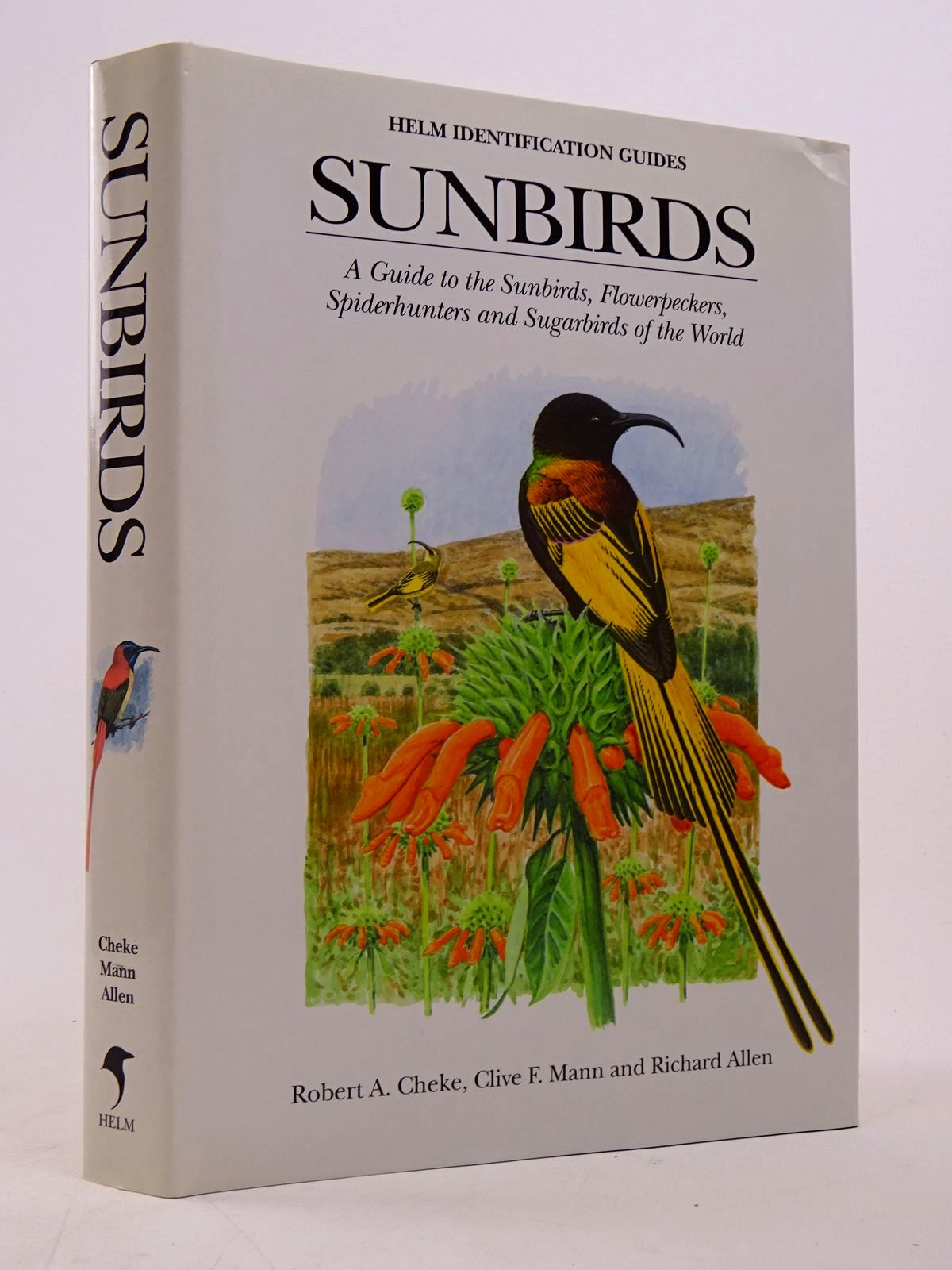 Photo of SUNBIRDS (HELM INDENTIFCATION GUIDES) written by Cheke, Robert A. Mann, Clive F. illustrated by Allen, Richard published by Christopher Helm (STOCK CODE: 1817577)  for sale by Stella & Rose's Books