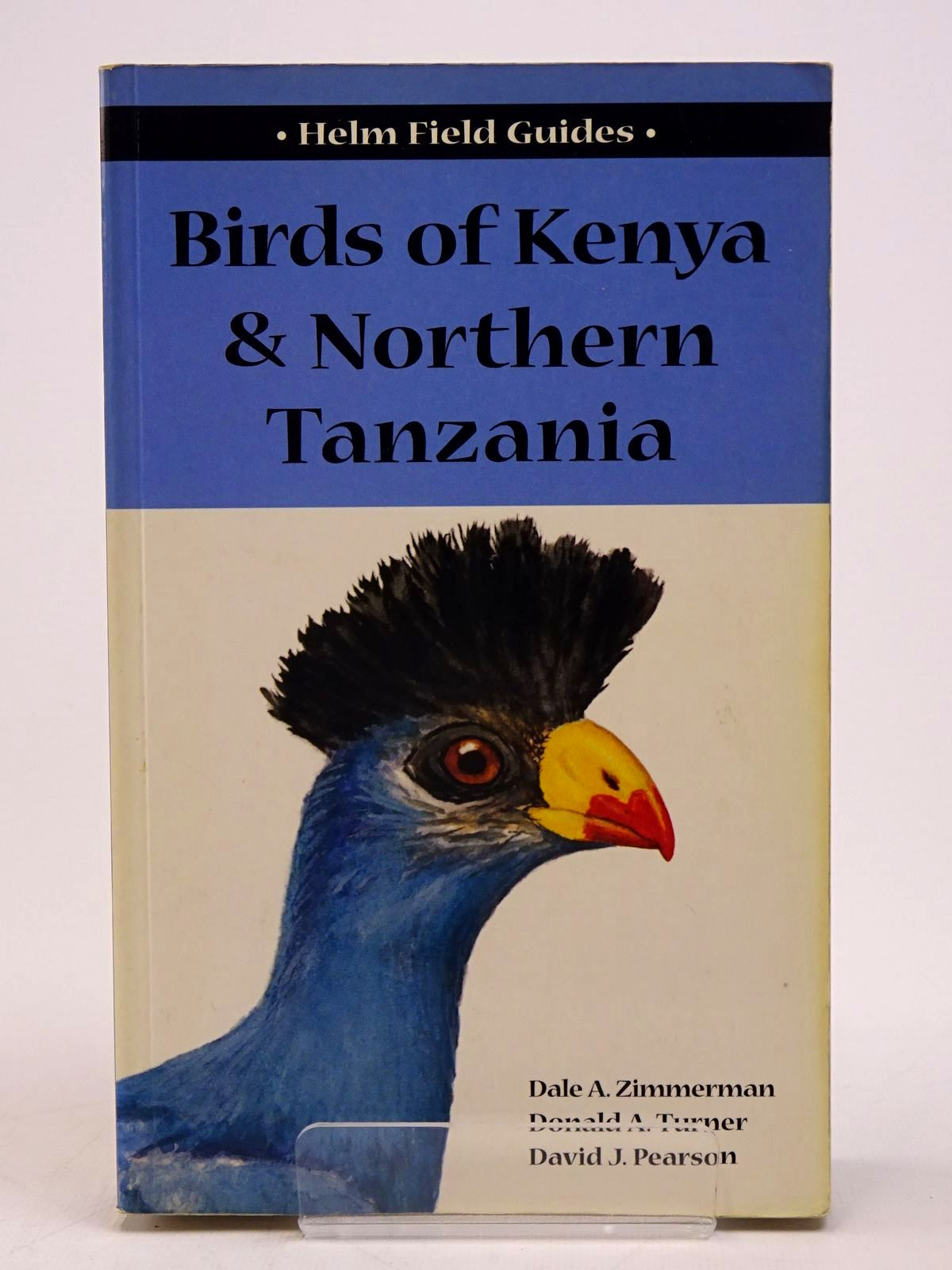 Photo of BIRDS OF KENYA & NORTHERN TANZANIA (HELM FIELD GUIDES) written by Zimmerman, Dale A. Turner, Donald A. Pearson, David J. published by Christopher Helm (STOCK CODE: 1817598)  for sale by Stella & Rose's Books