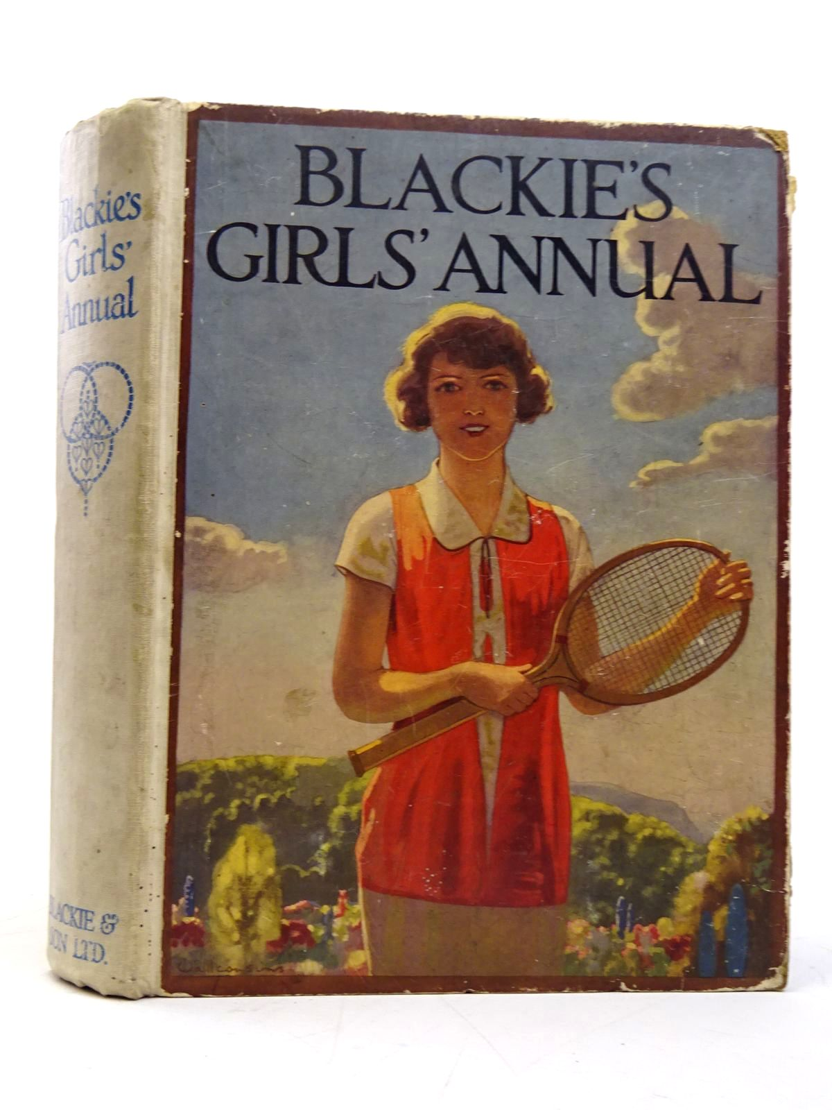 Photo of BLACKIE'S GIRLS' ANNUAL written by Middleton, Margaret Harrison, Florence Brazil, Angela et al,  illustrated by Johnston, M.D. Brock, C.E. Browne, Gordon et al.,  published by Blackie & Son Ltd. (STOCK CODE: 1817635)  for sale by Stella & Rose's Books