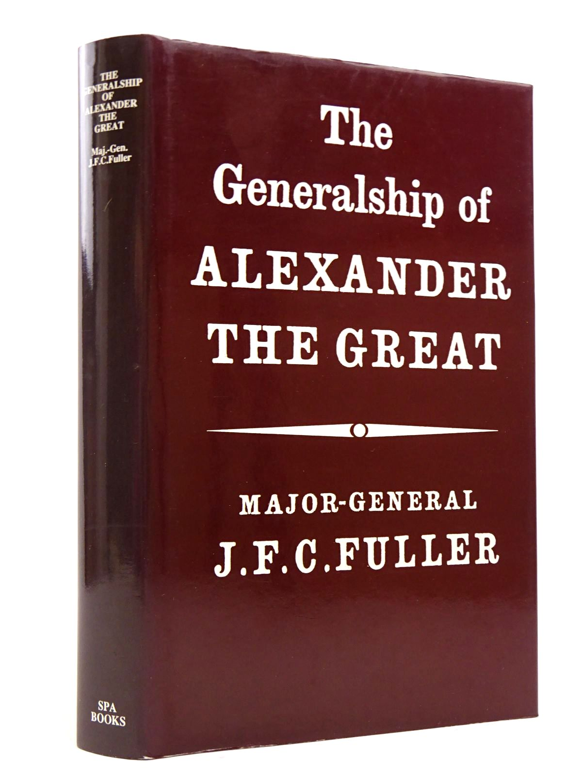 Photo of THE GENERALSHIP OF ALEXANDER THE GREAT- Stock Number: 1817646