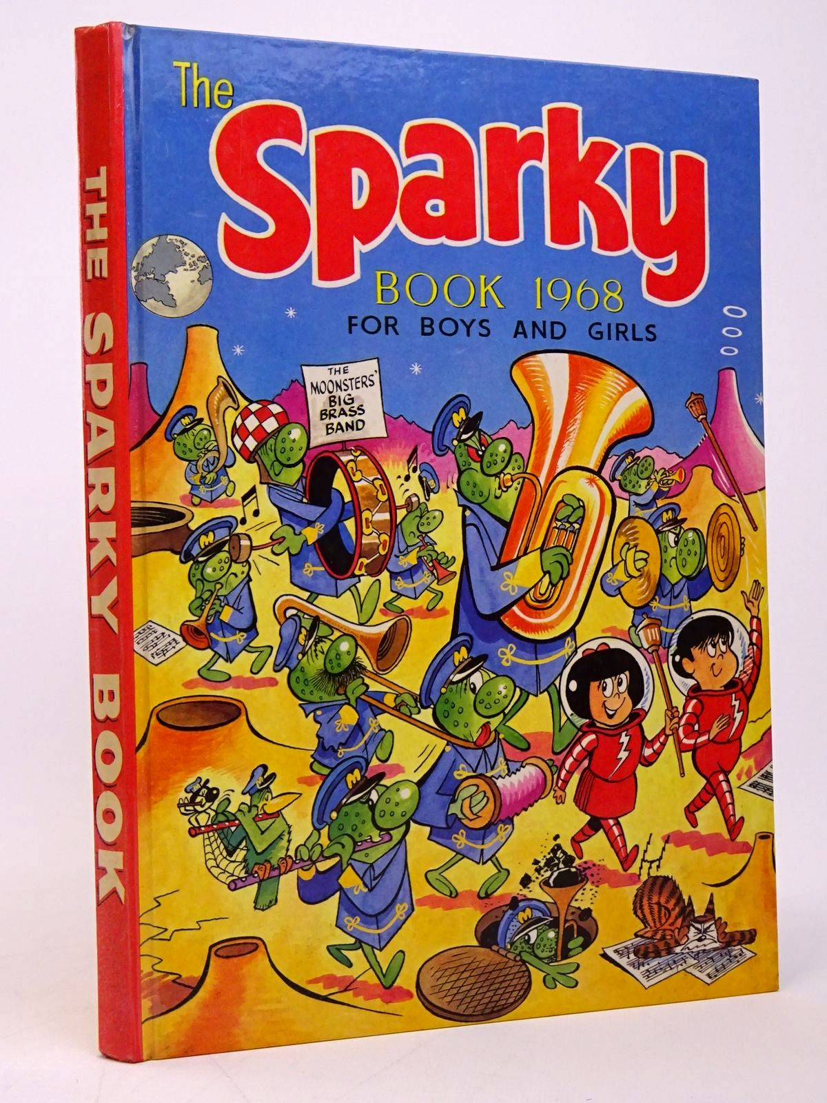 Photo of THE SPARKY BOOK 1968 published by D.C. Thomson & Co Ltd. (STOCK CODE: 1817709)  for sale by Stella & Rose's Books