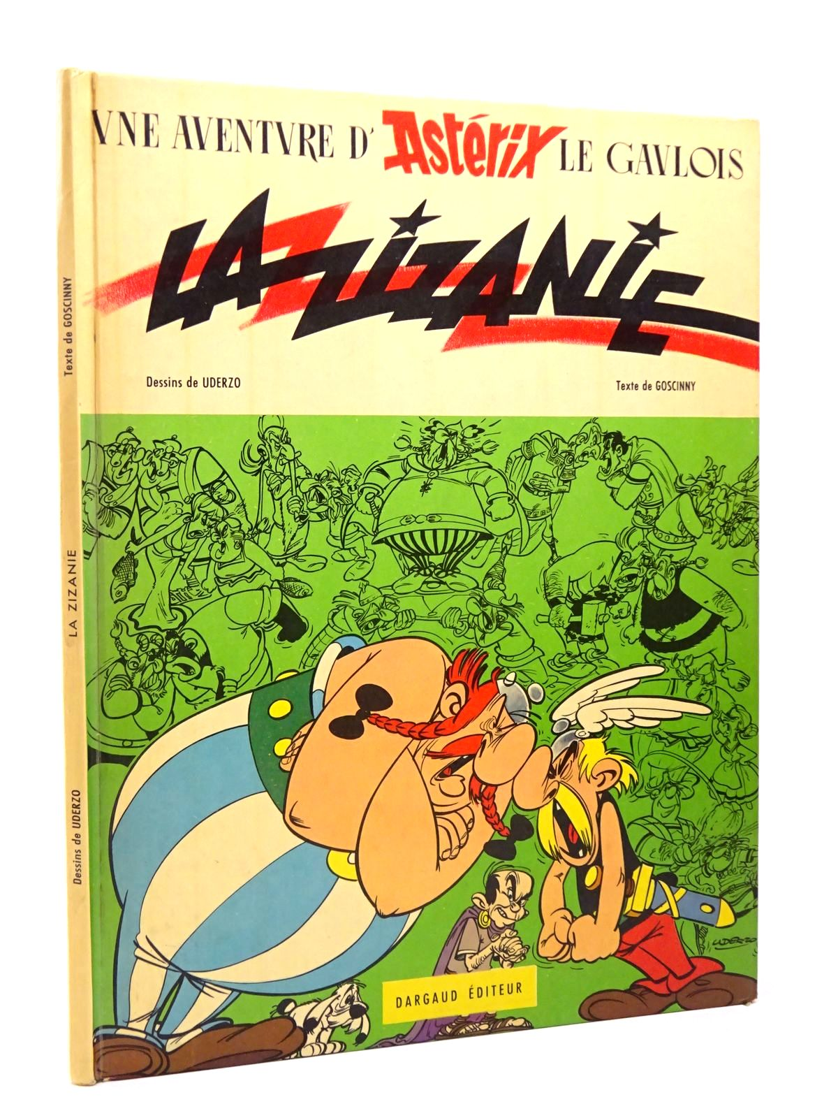 Photo of LA ZIZANIE written by Goscinny, Rene illustrated by Uderzo, Albert published by Dargaud (STOCK CODE: 1817717)  for sale by Stella & Rose's Books