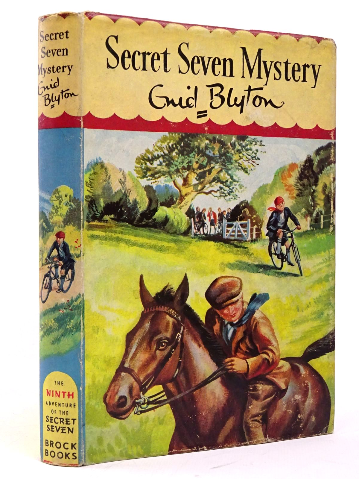 Photo of SECRET SEVEN MYSTERY written by Blyton, Enid illustrated by Sharrocks, Burgess published by Brockhampton Press (STOCK CODE: 1817760)  for sale by Stella & Rose's Books