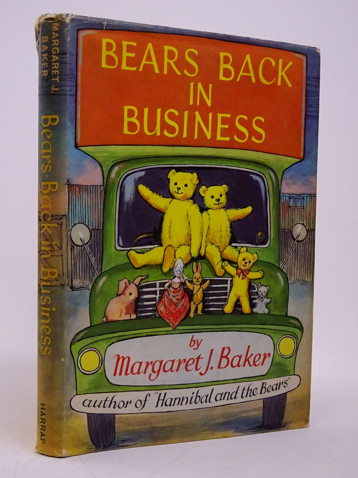 Photo of BEARS BACK IN BUSINESS written by Baker, Margaret J. illustrated by Rowles, Daphne published by George G. Harrap & Co. Ltd. (STOCK CODE: 1817764)  for sale by Stella & Rose's Books