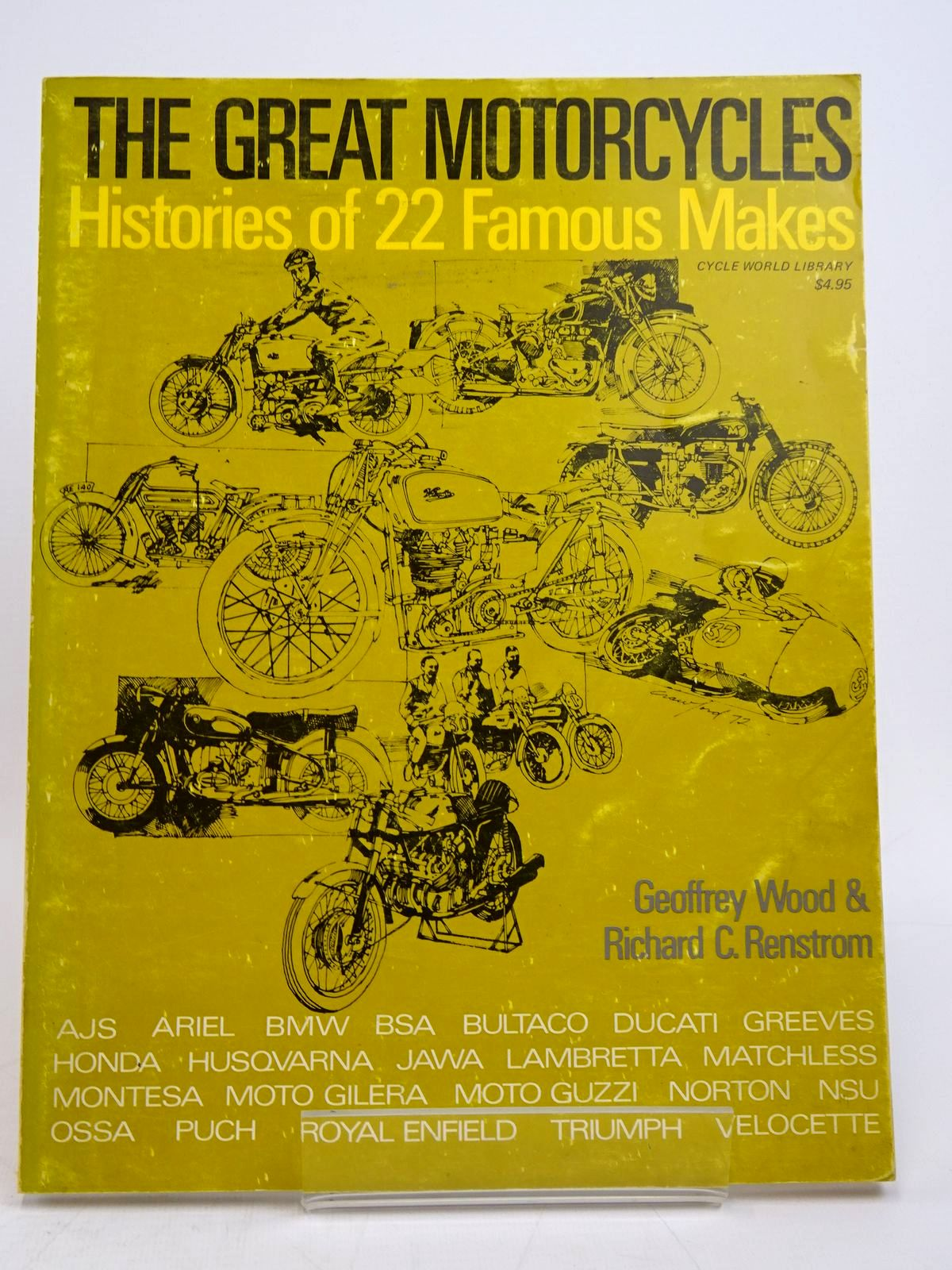 Photo of THE GREAT MOTORCYCLES: HISTORIES OF 22 FAMOUS MAKES- Stock Number: 1817789