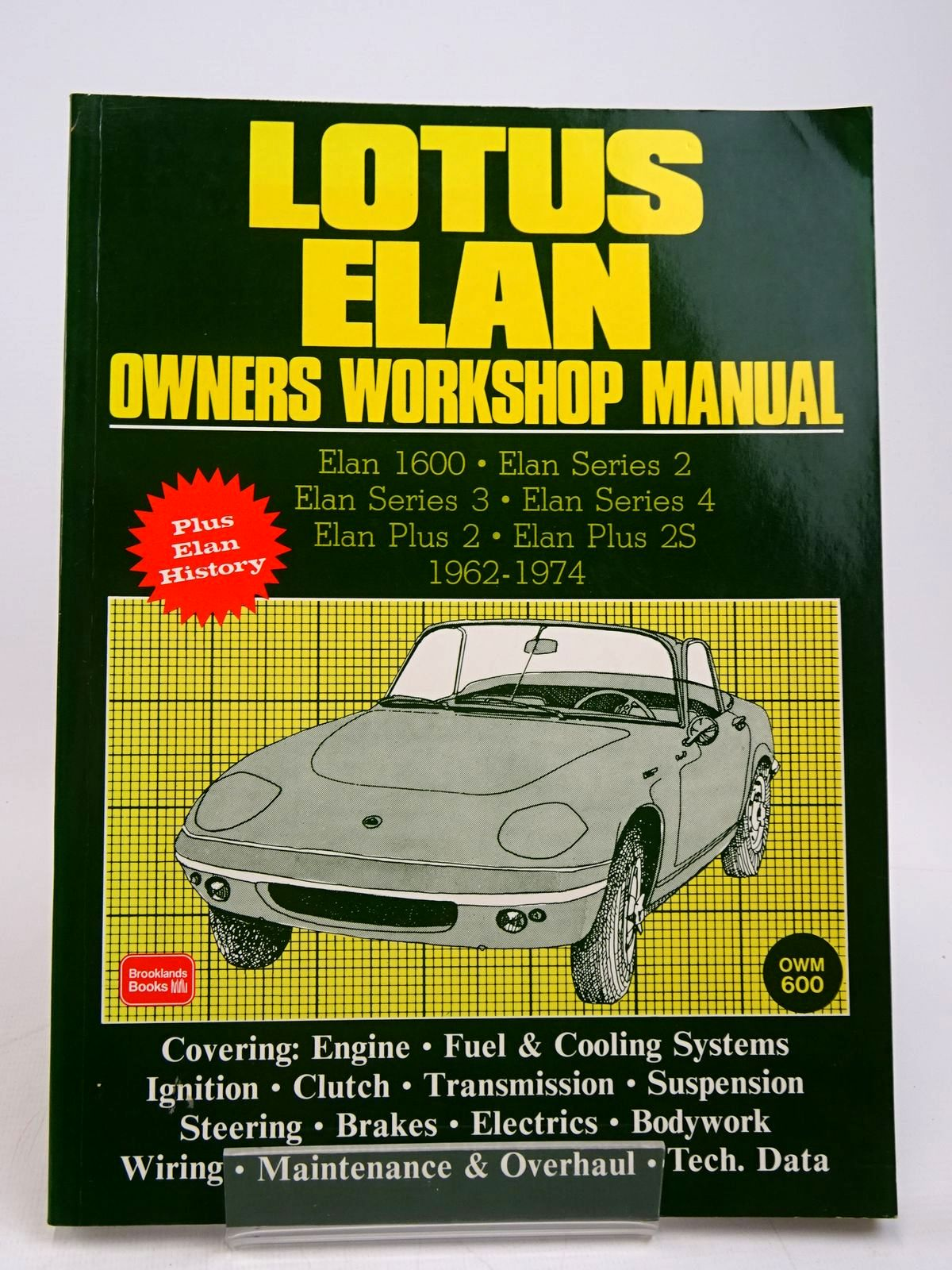 Photo of LOTUS ELAN OWNERS WORKSHOP MANUAL published by Brooklands Books (STOCK CODE: 1817836)  for sale by Stella & Rose's Books