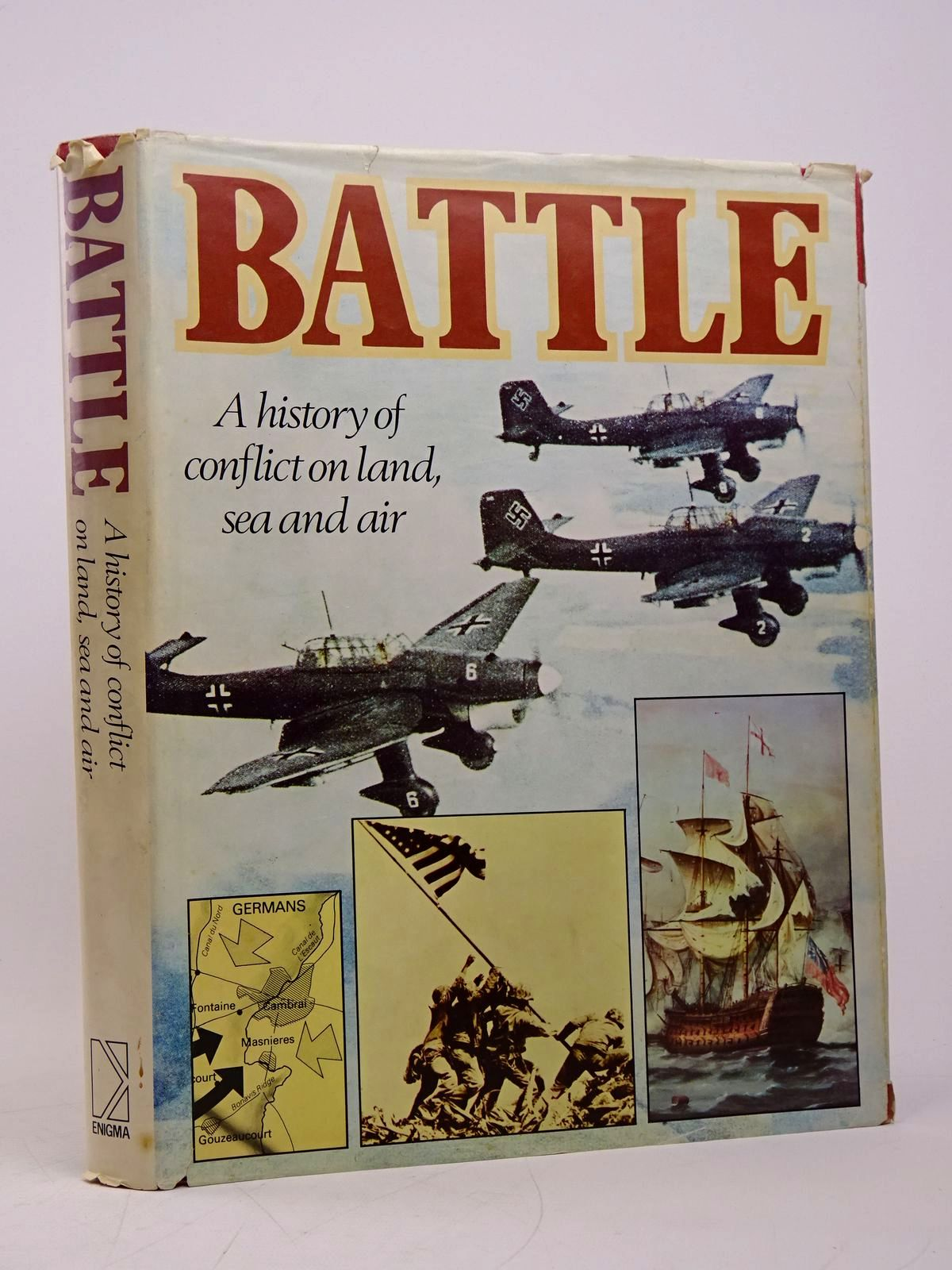 Photo of BATTLE: A HISTORY OF CONFLICT ON LAND, SEA AND AIR written by Revie, Alistair Foster, Thomas Graham, Burton published by Enigma Books (STOCK CODE: 1817857)  for sale by Stella & Rose's Books