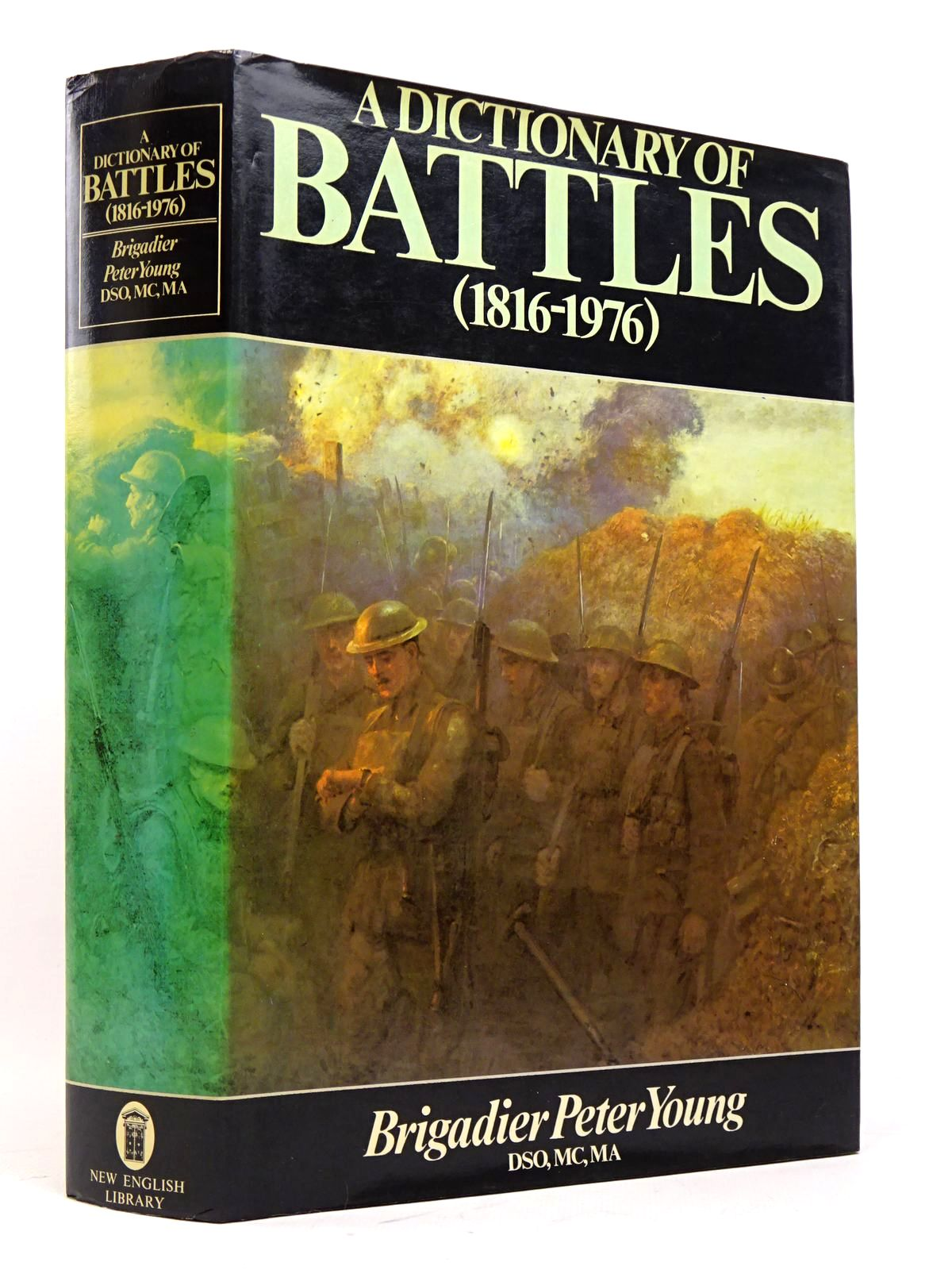 Photo of A DICTIONARY OF BATTLES 1816-1976 written by Young, Peter Calvert, Michael published by New English Library (STOCK CODE: 1817888)  for sale by Stella & Rose's Books