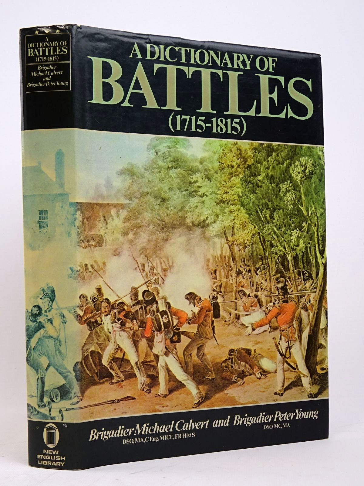 Photo of A DICTIONARY OF BATTLES 1715-1815 written by Clavert, Michael Young, Peter published by New English Library (STOCK CODE: 1817889)  for sale by Stella & Rose's Books