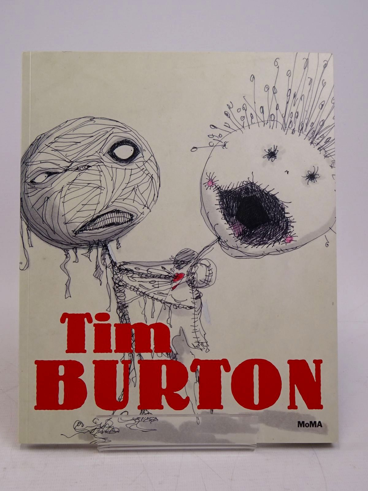 Photo of TIM BURTON written by Magliozzi, Ron<br />Hendy, Jenny illustrated by Burton, Tim published by The Museum of Modern Art (STOCK CODE: 1817959)  for sale by Stella & Rose's Books