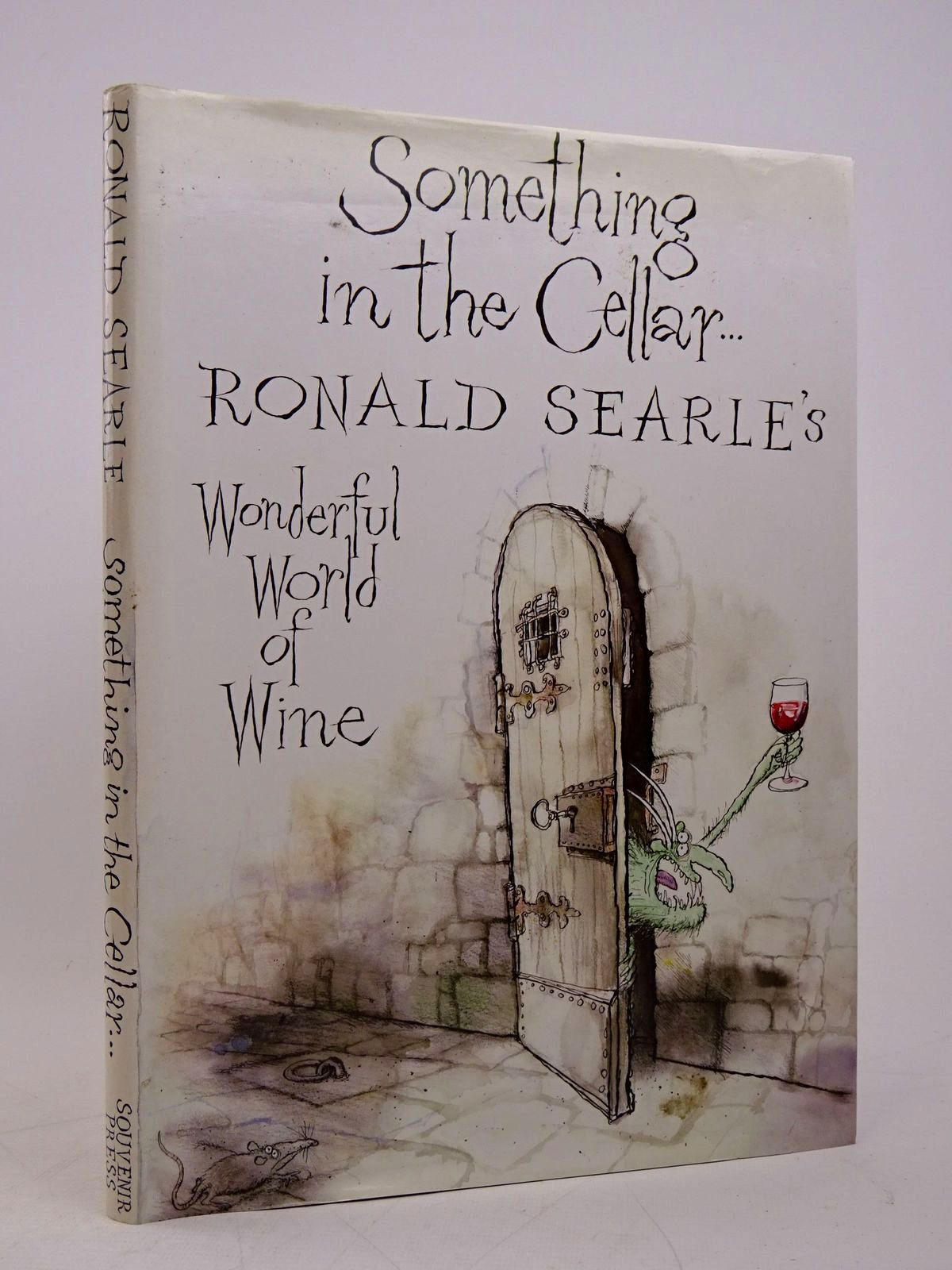 Photo of SOMETHING IN THE CELLAR written by Searle, Ronald illustrated by Searle, Ronald published by Souvenir Press (STOCK CODE: 1817987)  for sale by Stella & Rose's Books