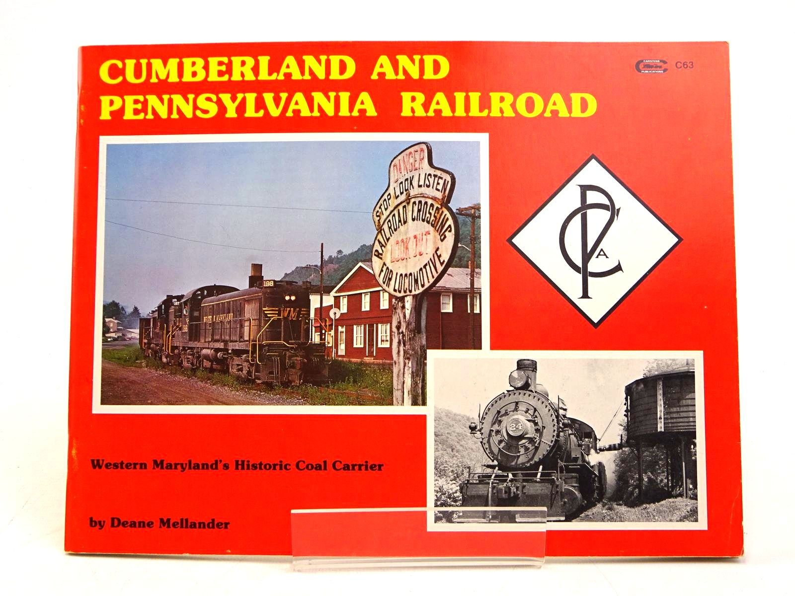 Photo of CUMBERLAND AND PENNSYLVANIA RAILROAD: WESTERN MARYLAND'S HISTORIC COAL CARRIER- Stock Number: 1818026