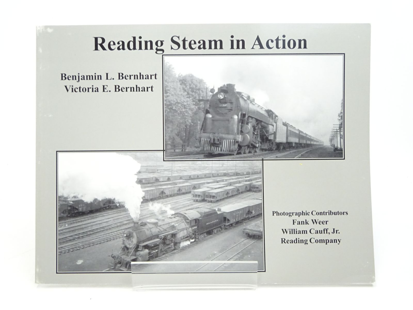 Photo of READING STEAM IN ACTION written by Bernhart, Benjamin L. Bernhart, Victoria E. published by Outer Station Project (STOCK CODE: 1818036)  for sale by Stella & Rose's Books