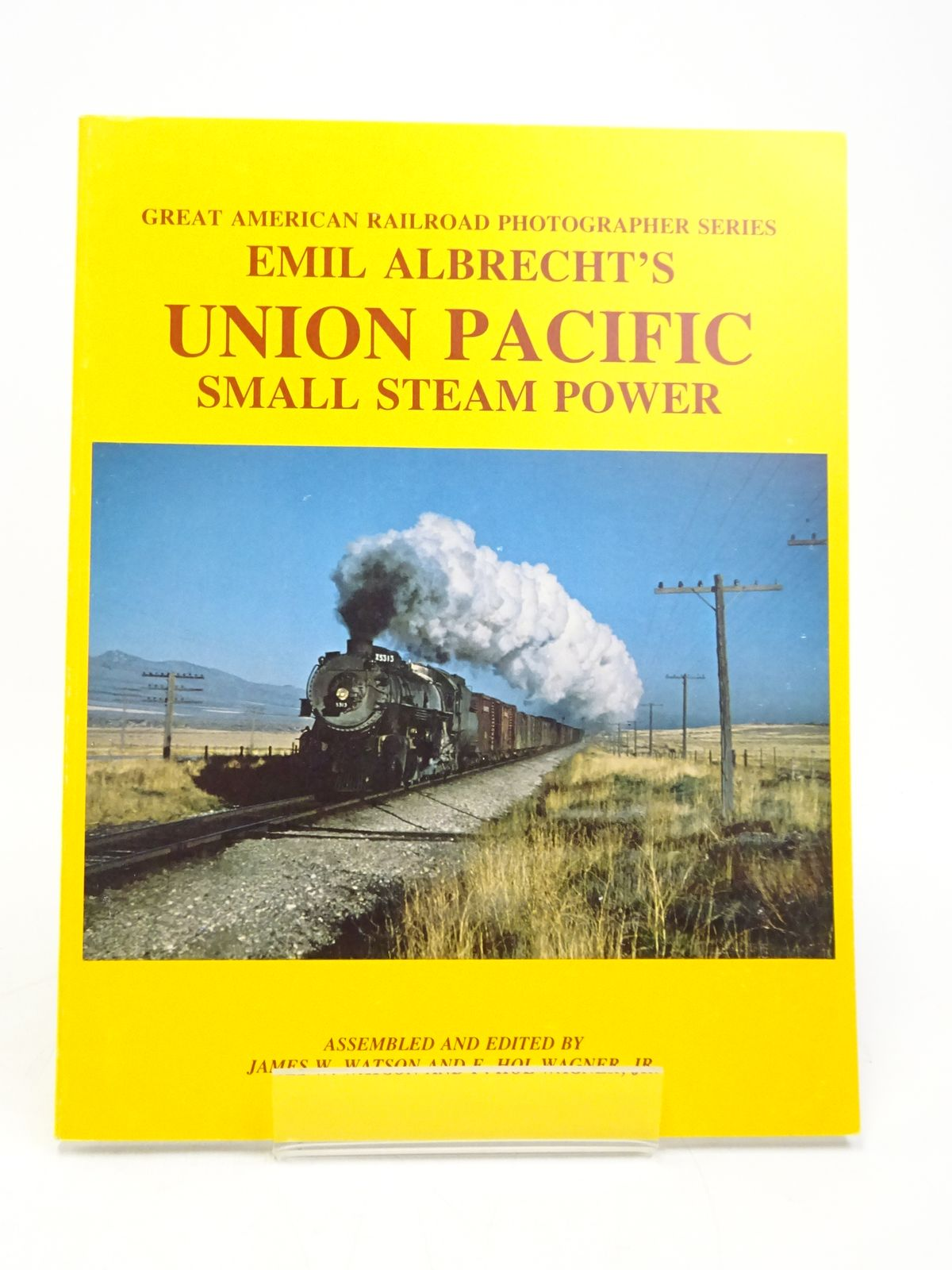 Photo of EMIL ALBRECHT'S UNION PACIFIC SMALL STEAM POWER written by Watson, James W. Wagner, F. Hol published by Motive Power Services (STOCK CODE: 1818041)  for sale by Stella & Rose's Books