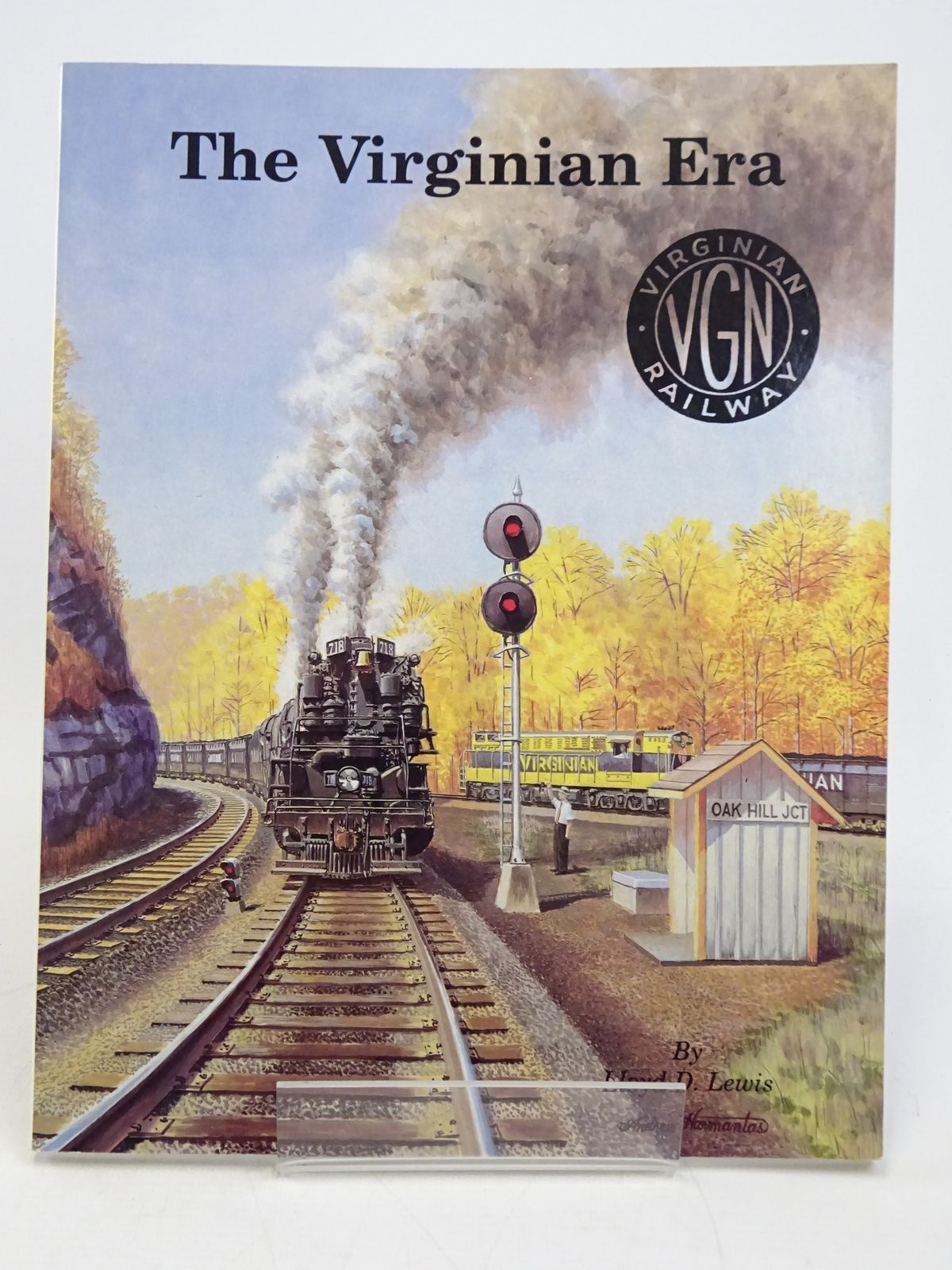 Photo of THE VIRGINIAN ERA written by Lewis, Lloyd D. published by TLC Publishing Inc. (STOCK CODE: 1818043)  for sale by Stella & Rose's Books