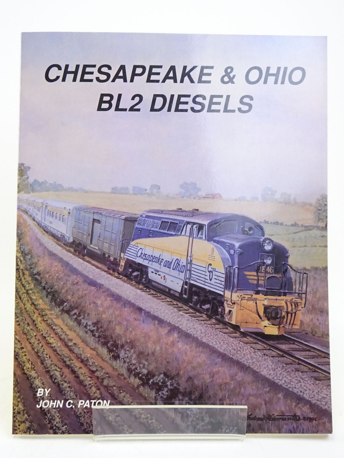 Photo of CHESAPEAKE & OHIO BL2 DIESELS written by Paton, John C. published by Chesapeake & Ohio Historical Society, Inc. (STOCK CODE: 1818044)  for sale by Stella & Rose's Books