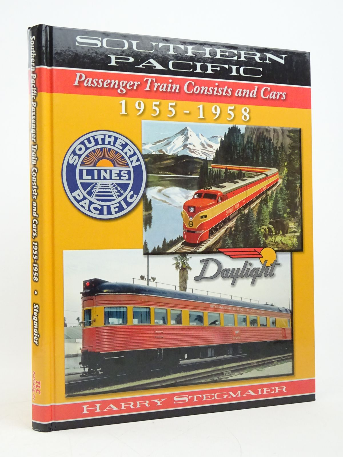 Photo of SOUTHERN PACIFIC PASSENGER TRAIN CONSISTS AND CARS 1955-1958 written by Stegmaier, Harry published by TLC Publishing Inc. (STOCK CODE: 1818078)  for sale by Stella & Rose's Books