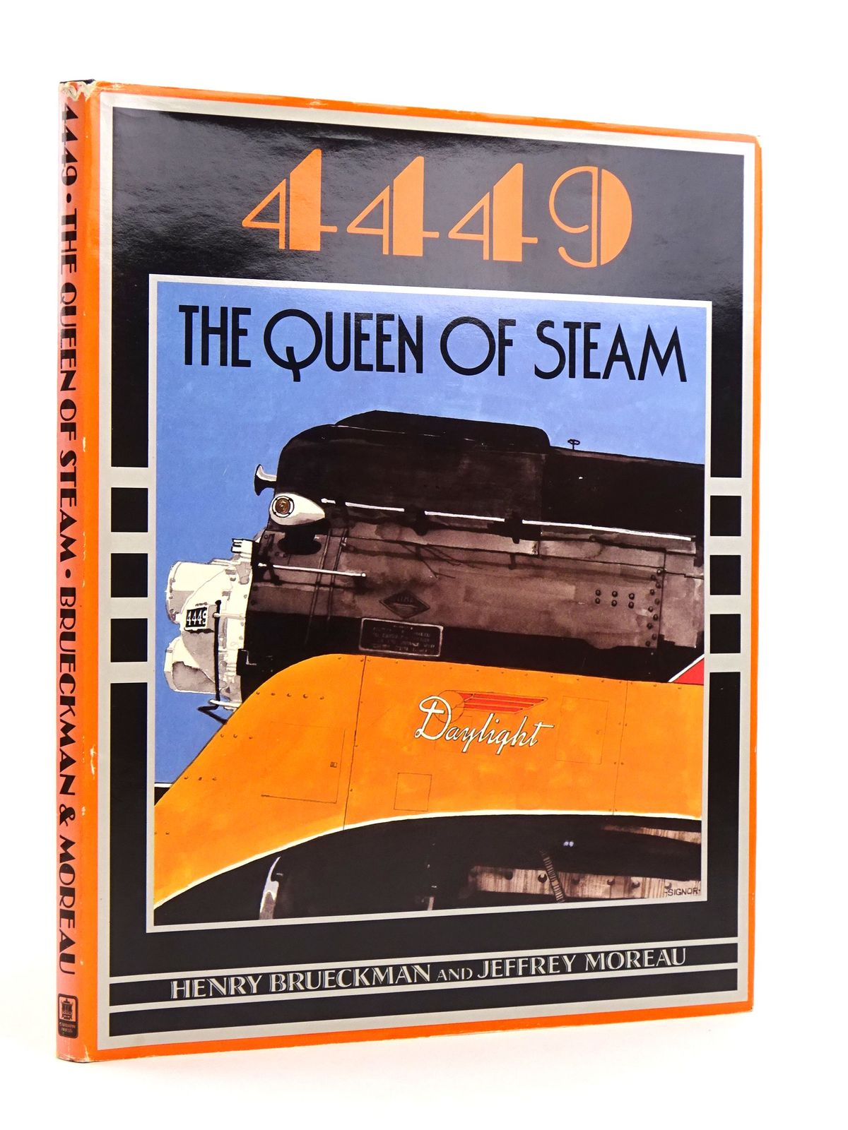 Photo of 4449 THE QUEEN OF STEAM written by Brueckman, Henry<br />Moreau, Jeffrey published by Carbarn Press (STOCK CODE: 1818116)  for sale by Stella & Rose's Books