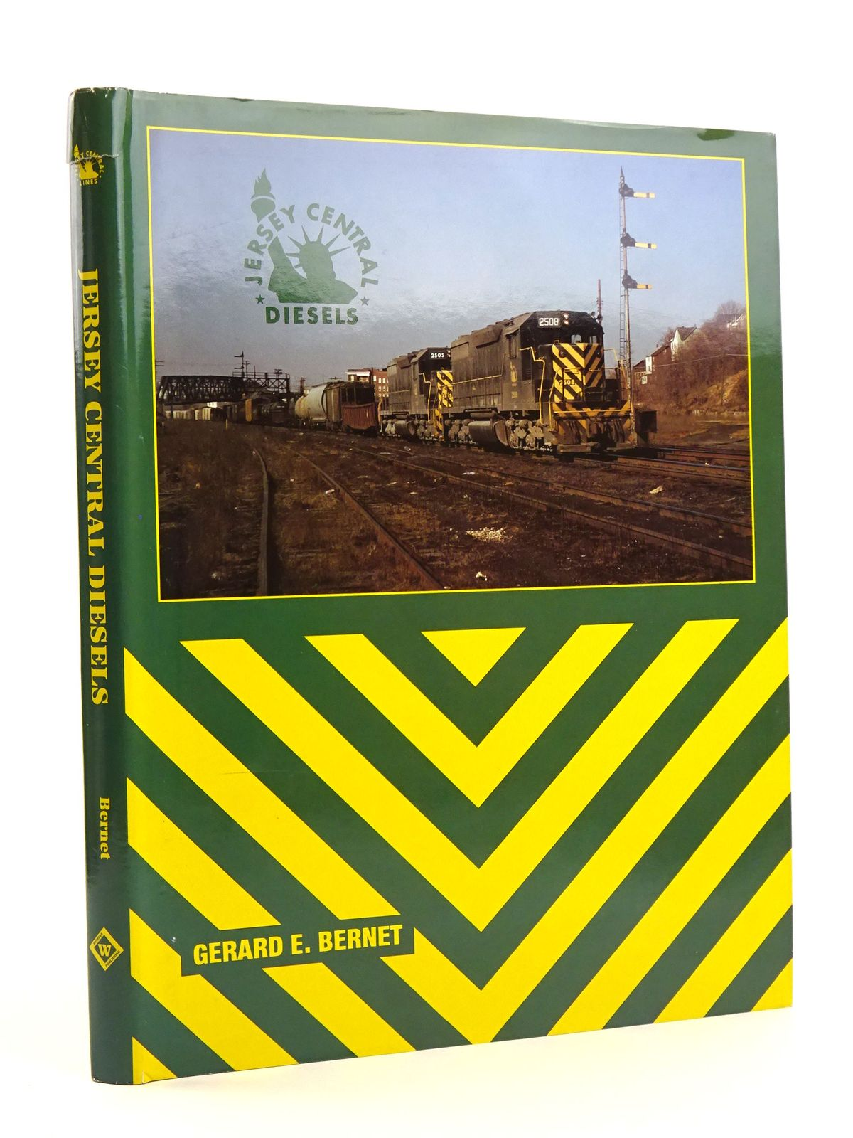 Photo of JERSEY CENTRAL DIESELS written by Bernet, Gerard E. published by Withers Publishing (STOCK CODE: 1818121)  for sale by Stella & Rose's Books